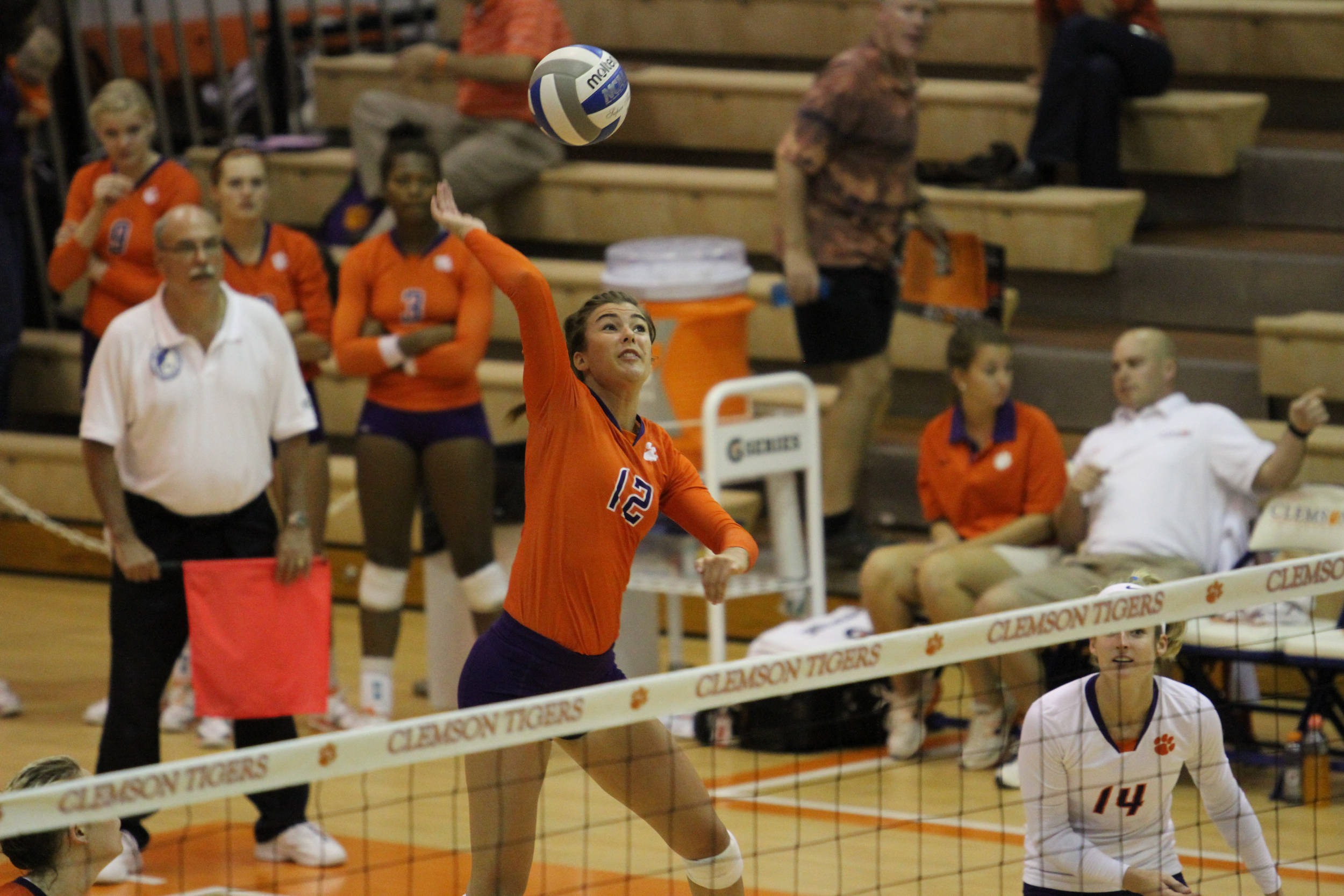 Tiger Volleyball Travels to Duke, Wake Forest this Week