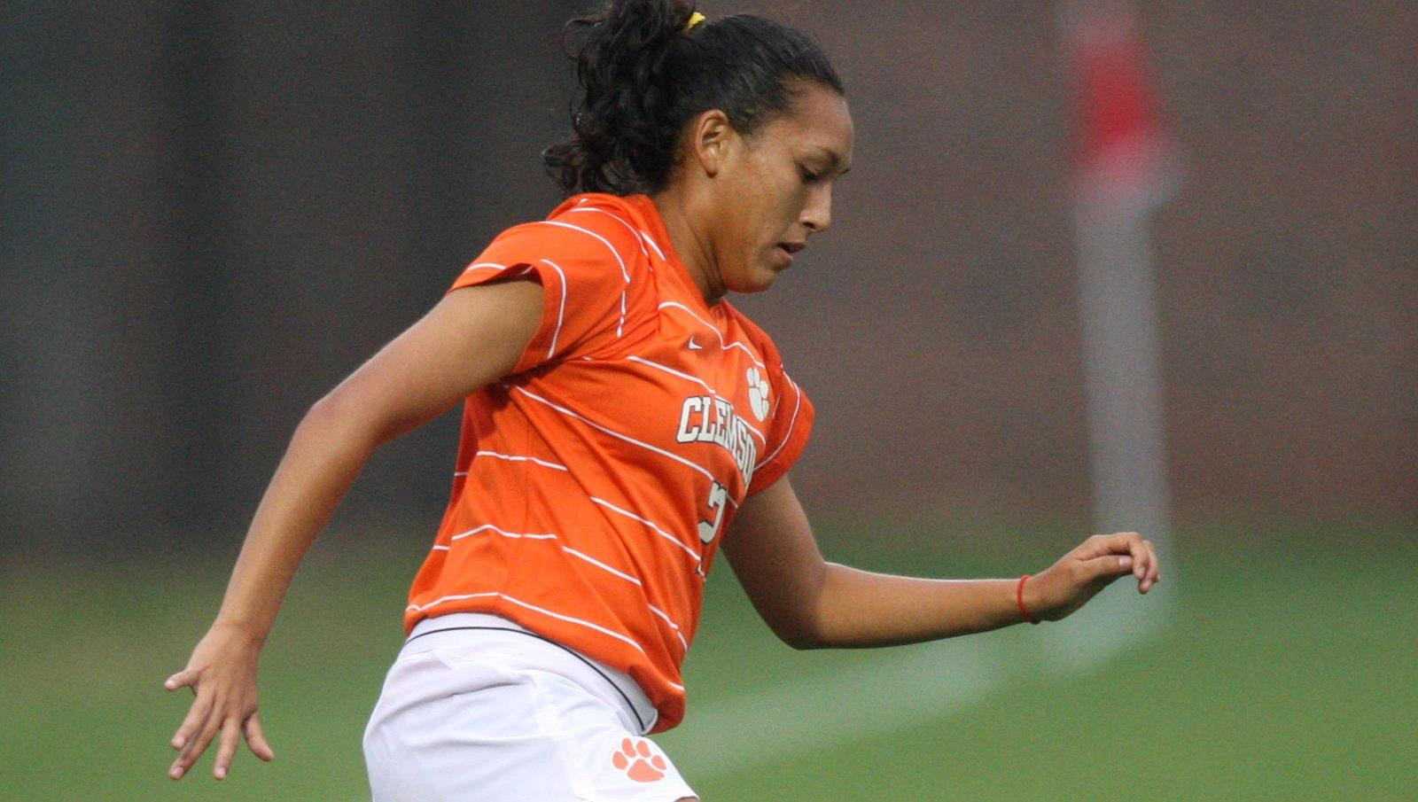 Clemson Women's Soccer Team Falls to #1 Florida State in Tallahassee Thursday Night