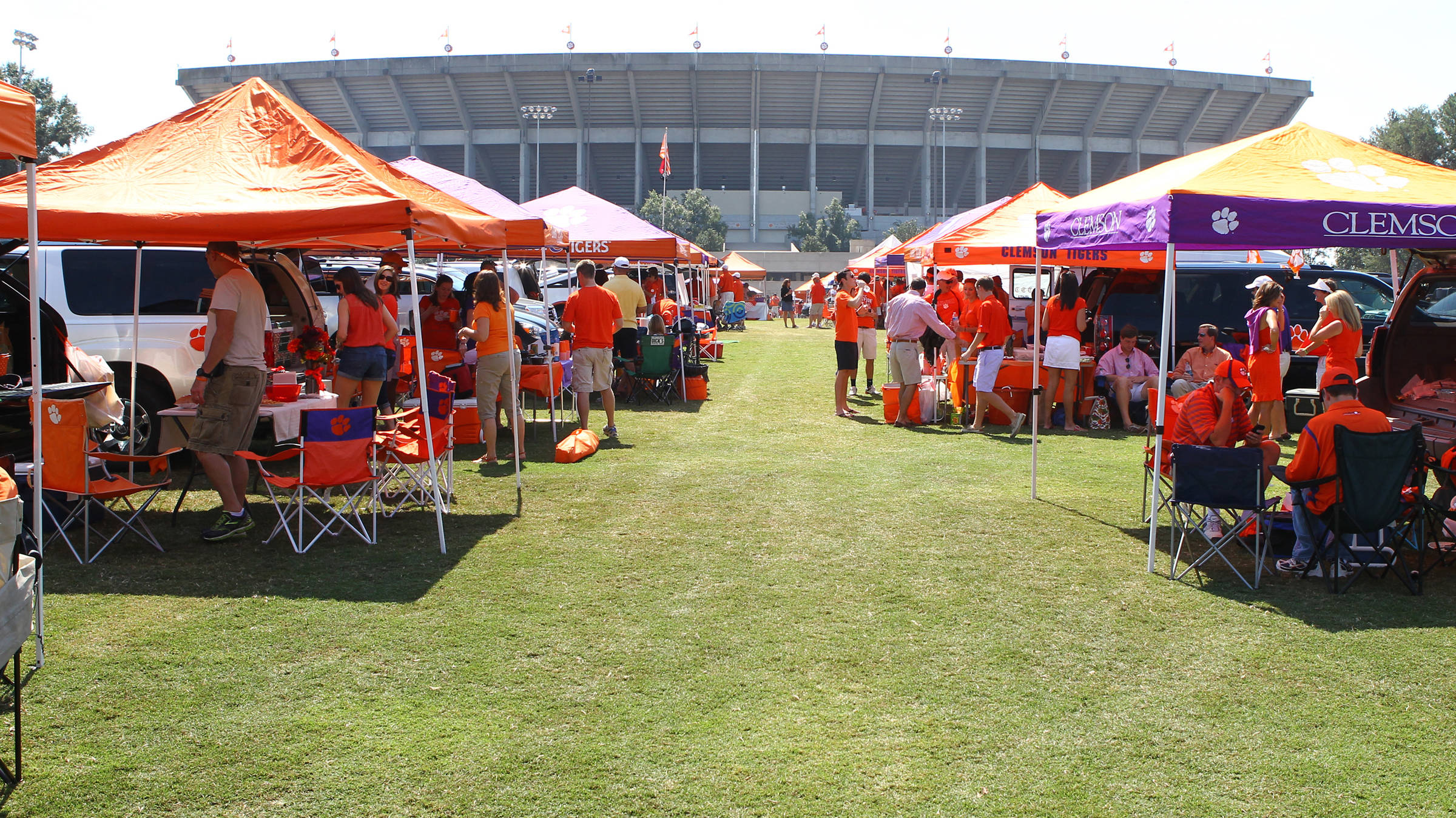 Clemson Wins the South's Best Tailgate