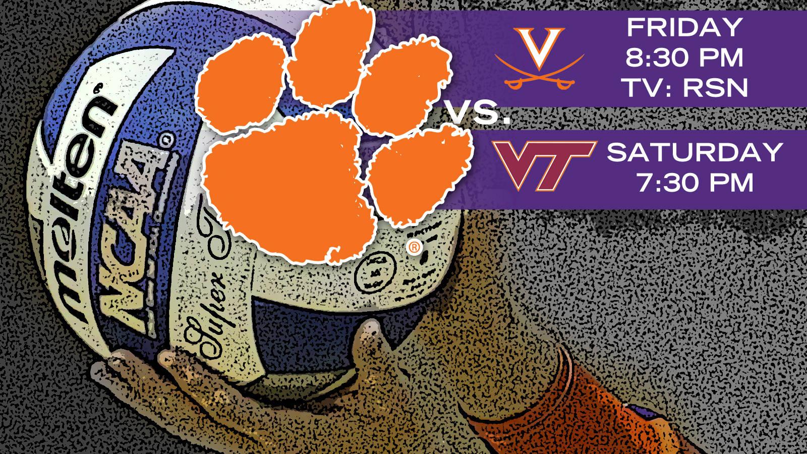 Volleyball Hosts Virginia, Virginia Tech this Weekend