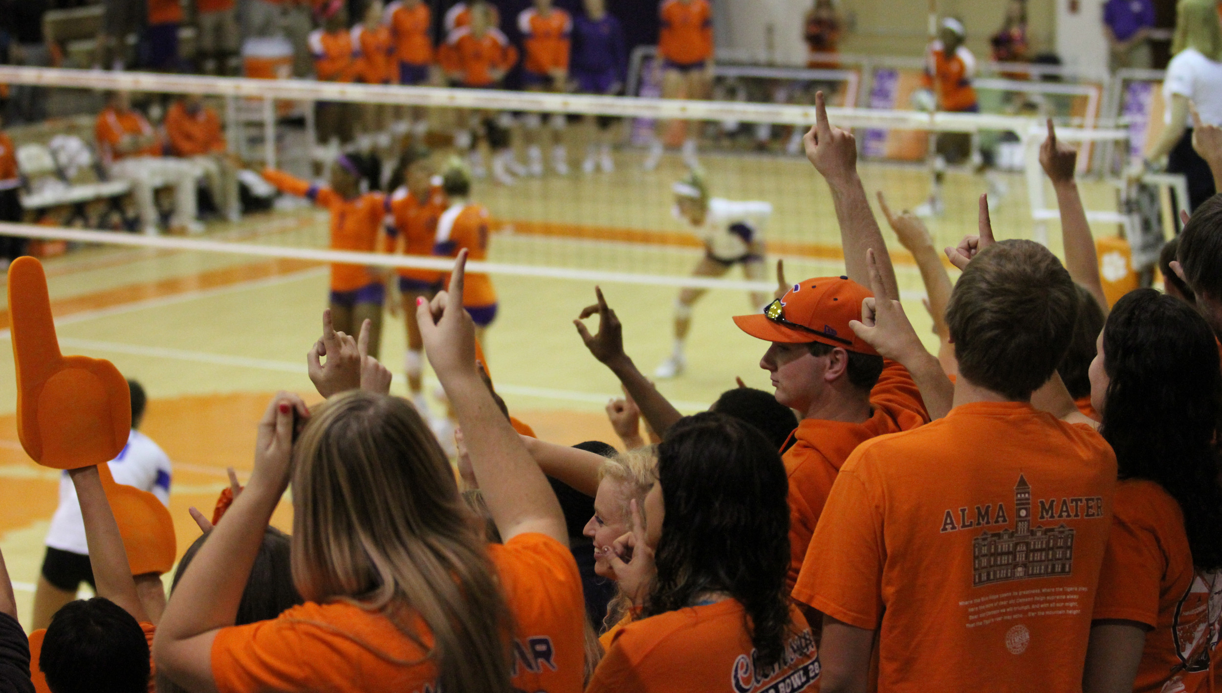Volleyball Holds Spring Tournament Saturday