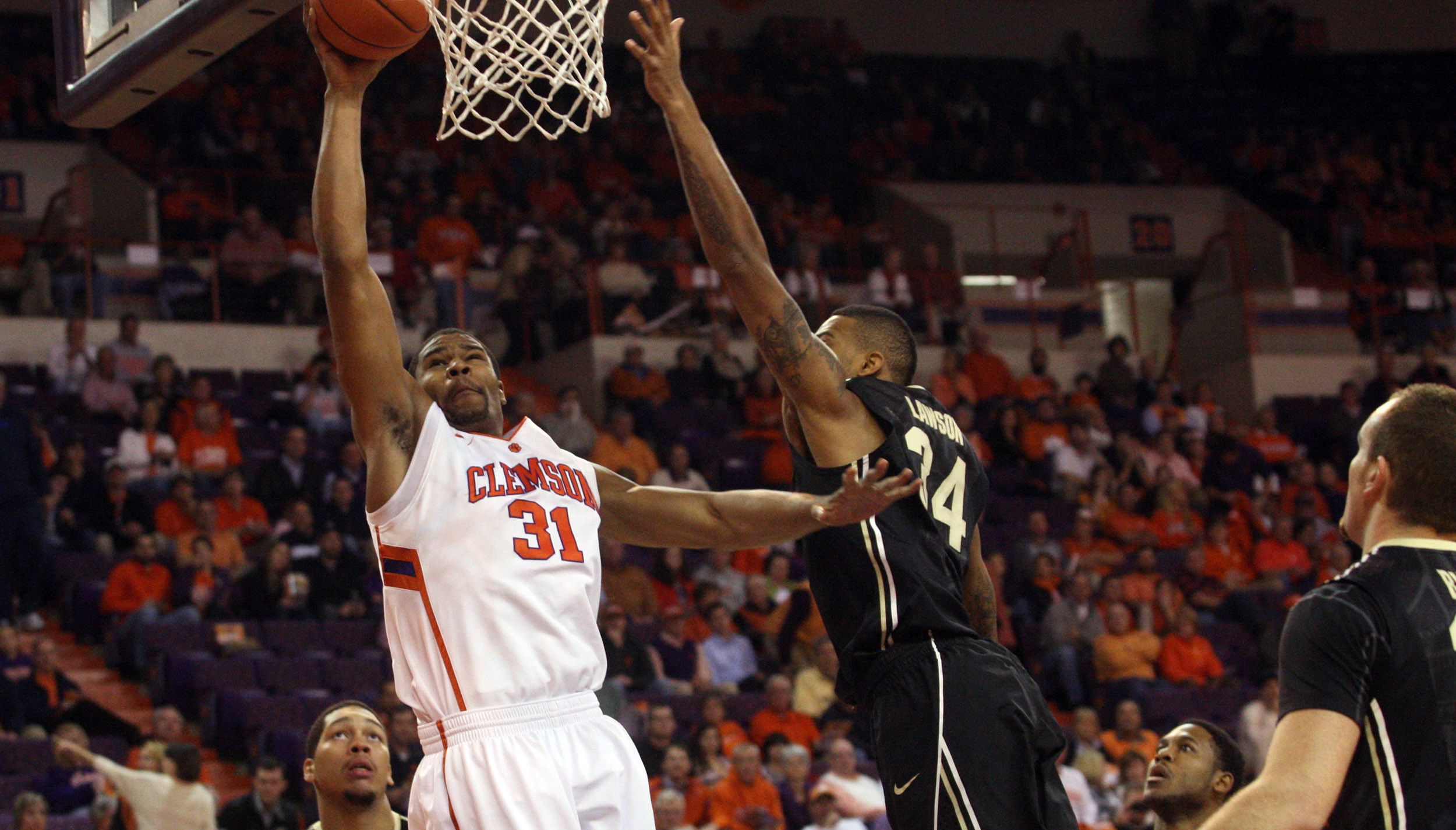 Sluggish First Half Costs Clemson in 73-61 Loss to Purdue on Wednesday