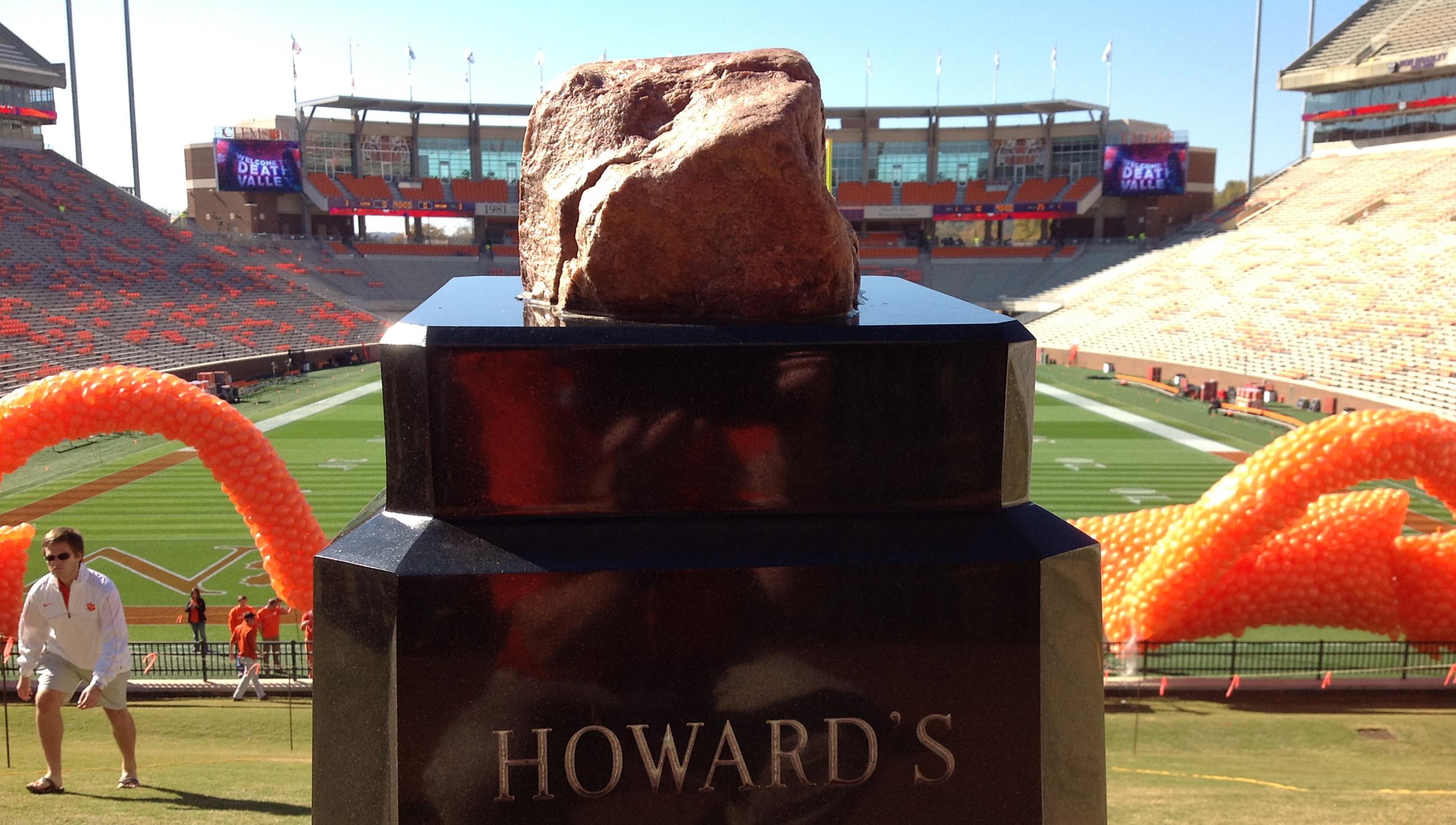 Howard's Rock Vandalized