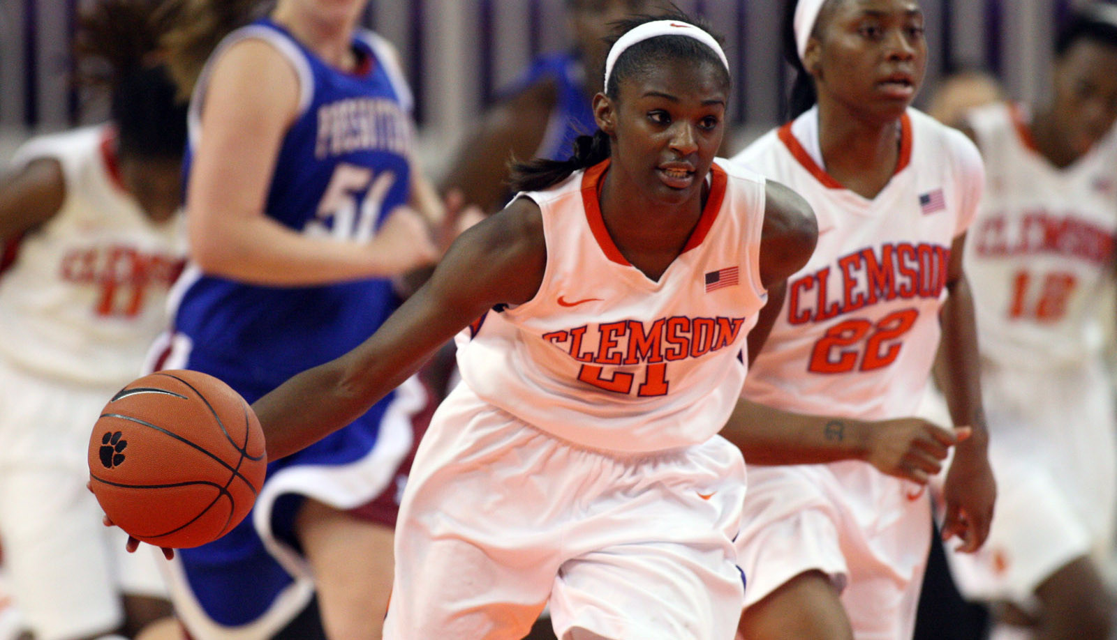 Lady Tigers Can't Hang On at Indiana
