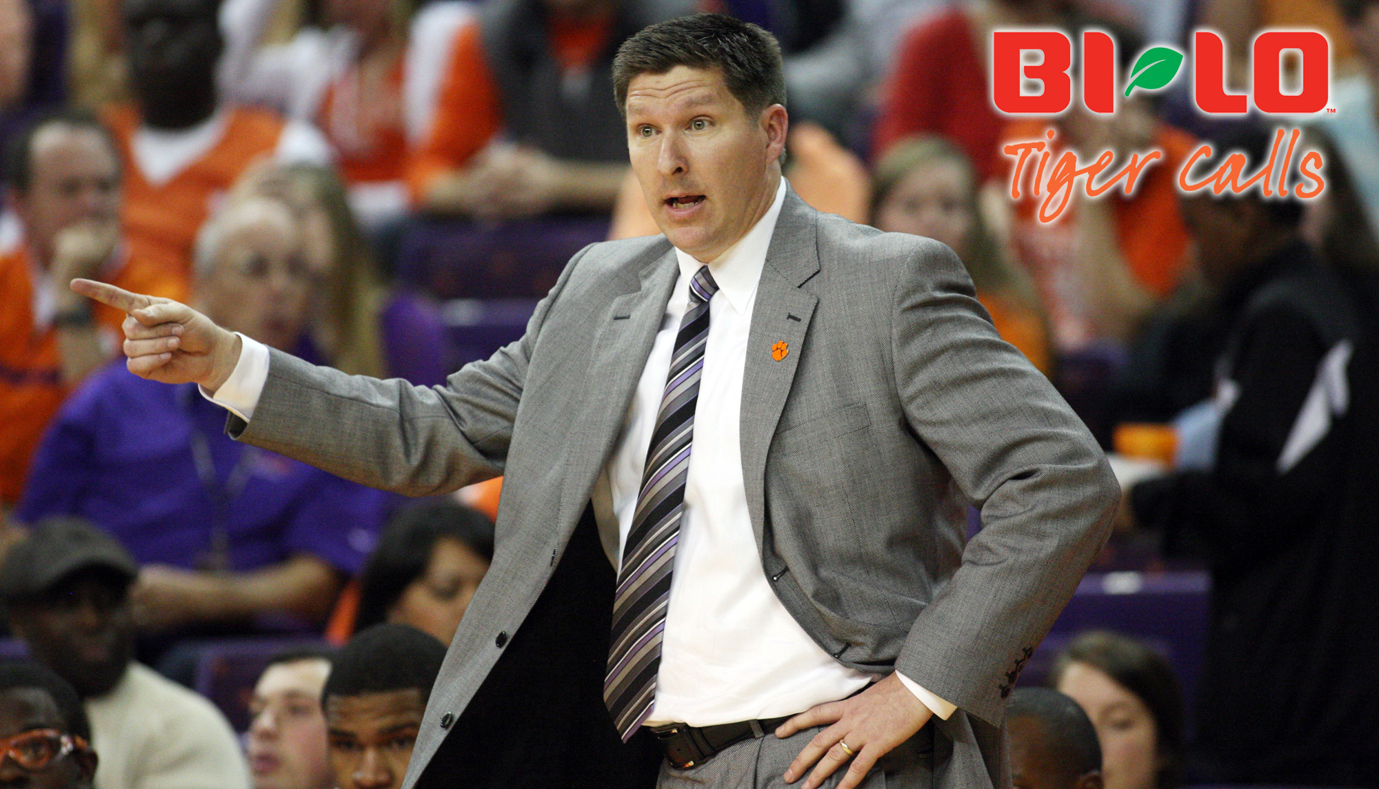 BI-LO Tiger Calls with Brad Brownell Tonight