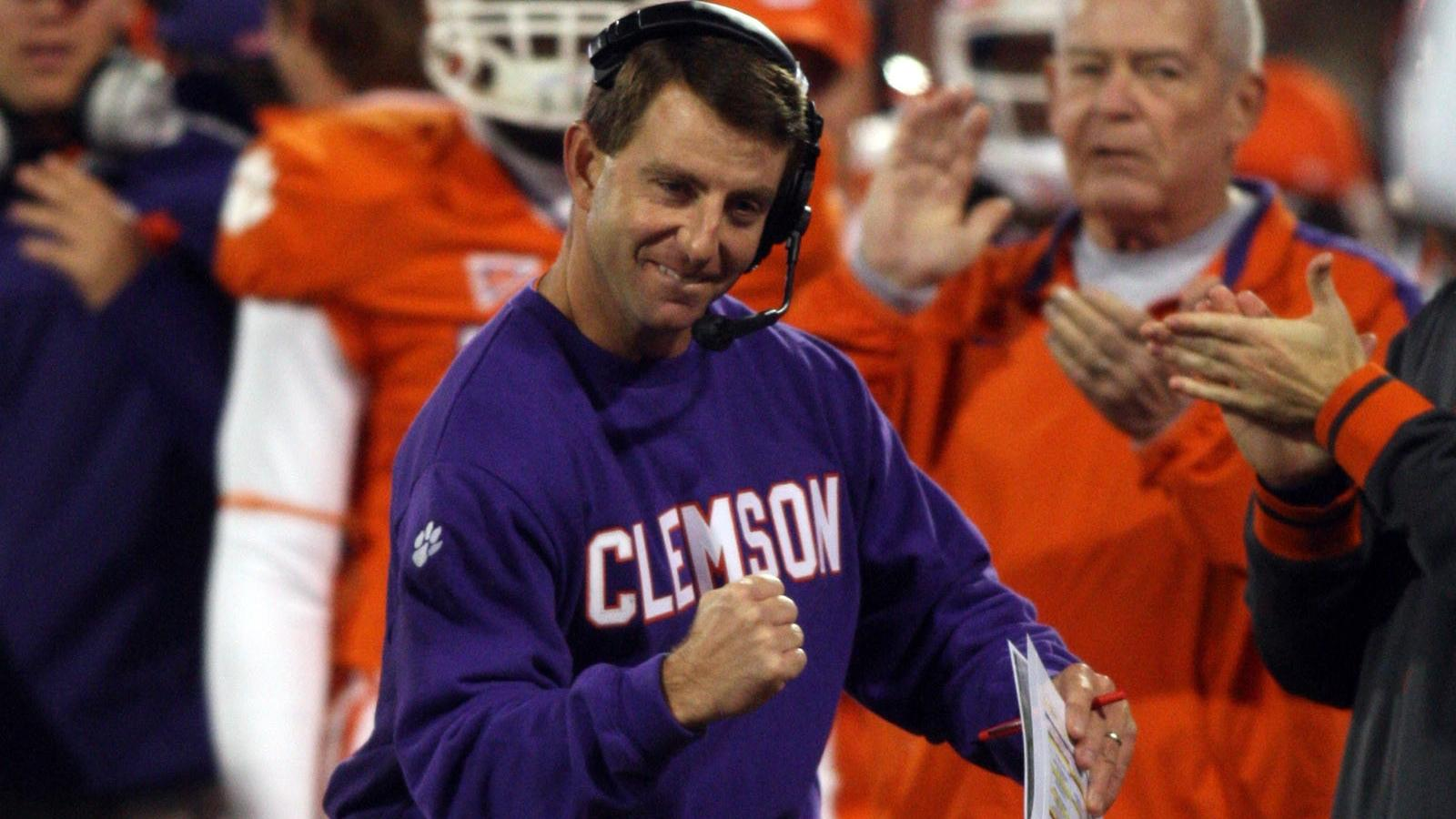Vote for Coach Swinney for 2012 Liberty Mutual Coach of the Year