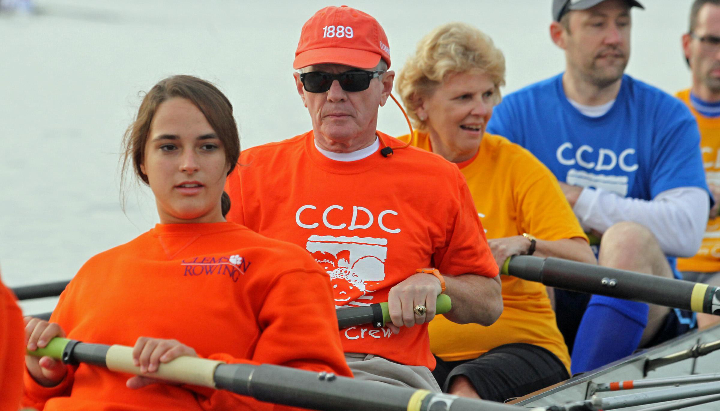 Clemson Rowing Team Participates in Community Learn to Row Day