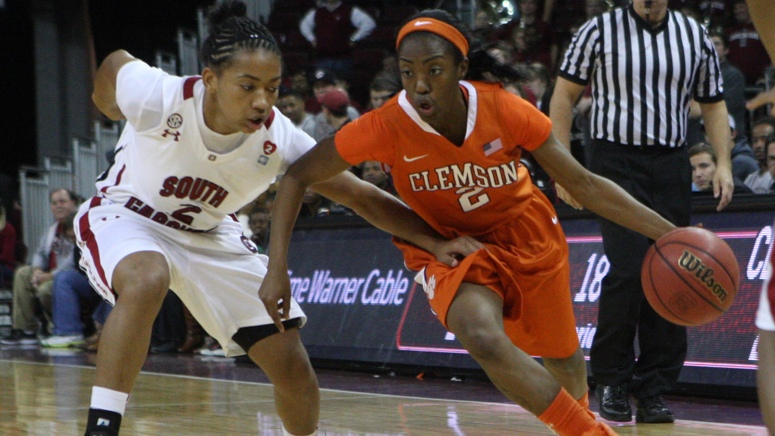 Lady Tigers Fall to Gamecocks in Columbia on Sunday