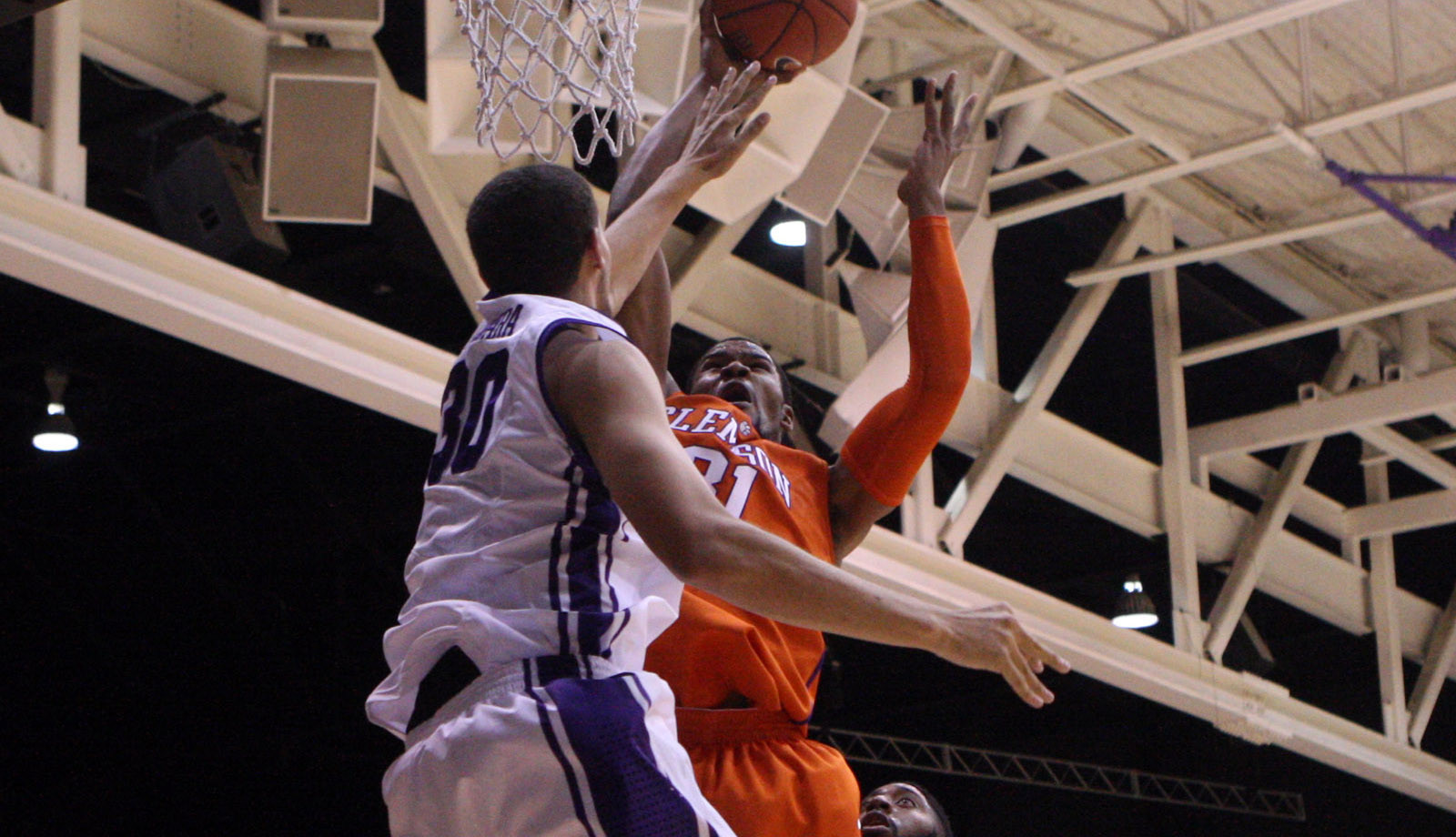 First Half Spurt Leads Clemson to 72-55 Victory at Furman