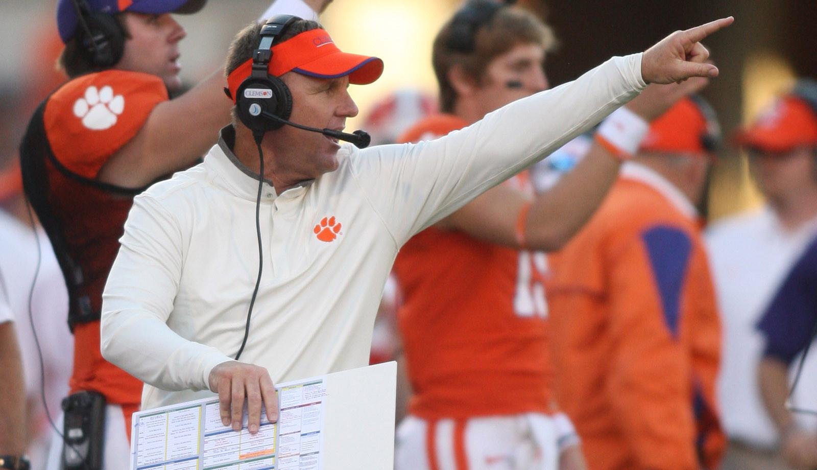 Clemson Football Video Report: Offensive Coordinator Chad Morris