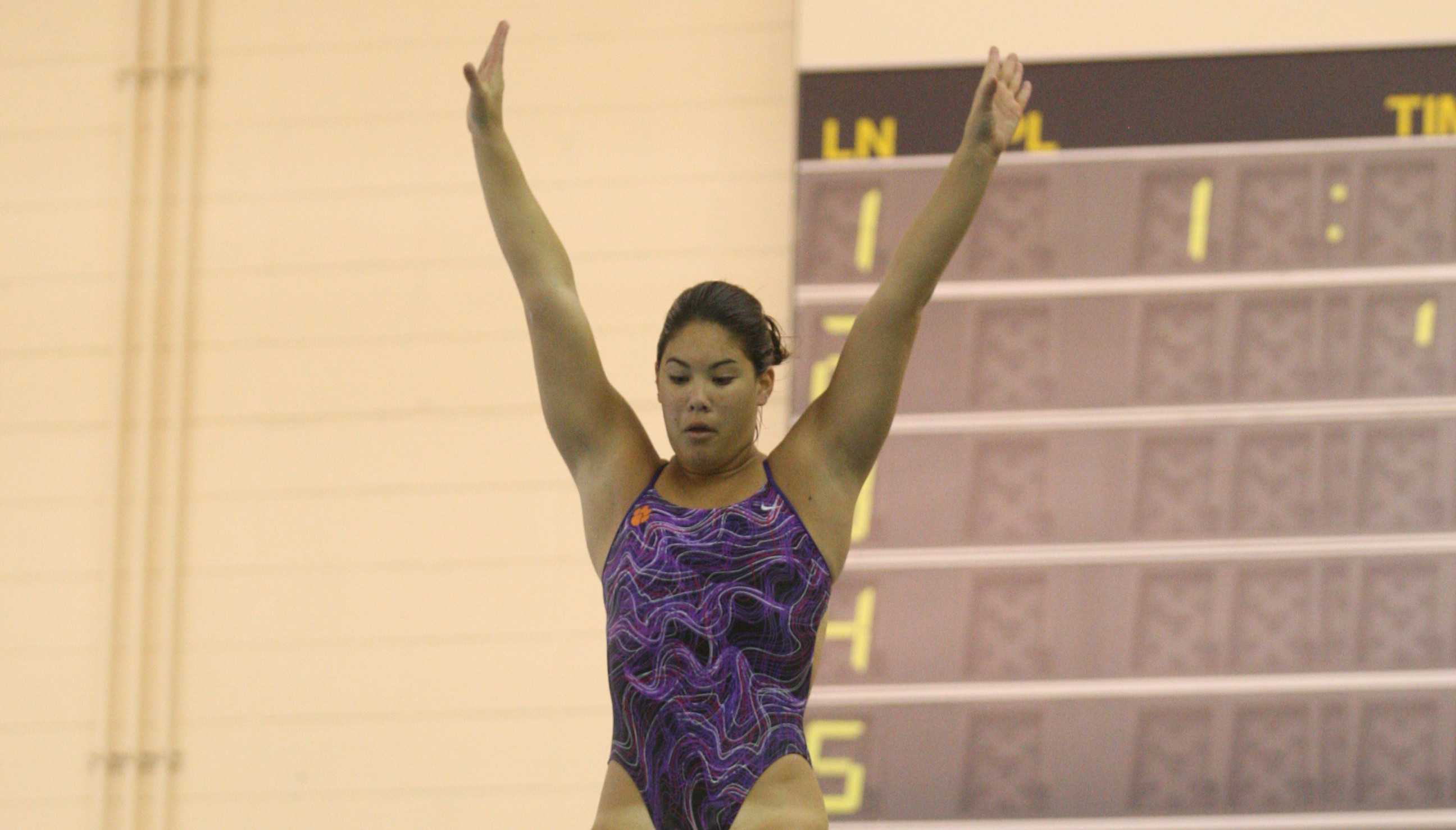 Houston Meet Gives Diving Crucial Experience