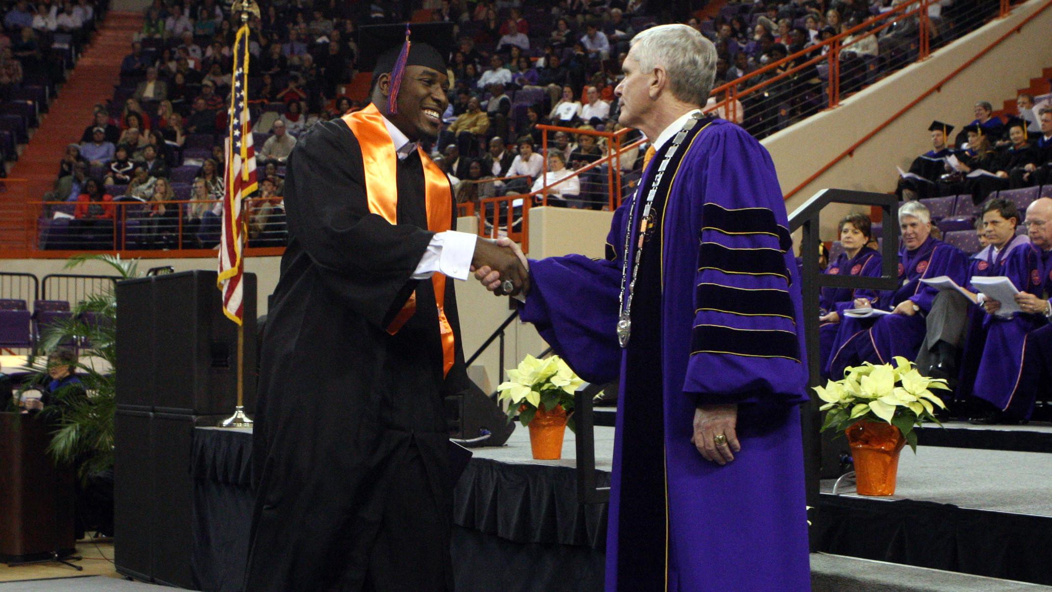 Twenty-Three Clemson Student-Athletes Receive Degrees