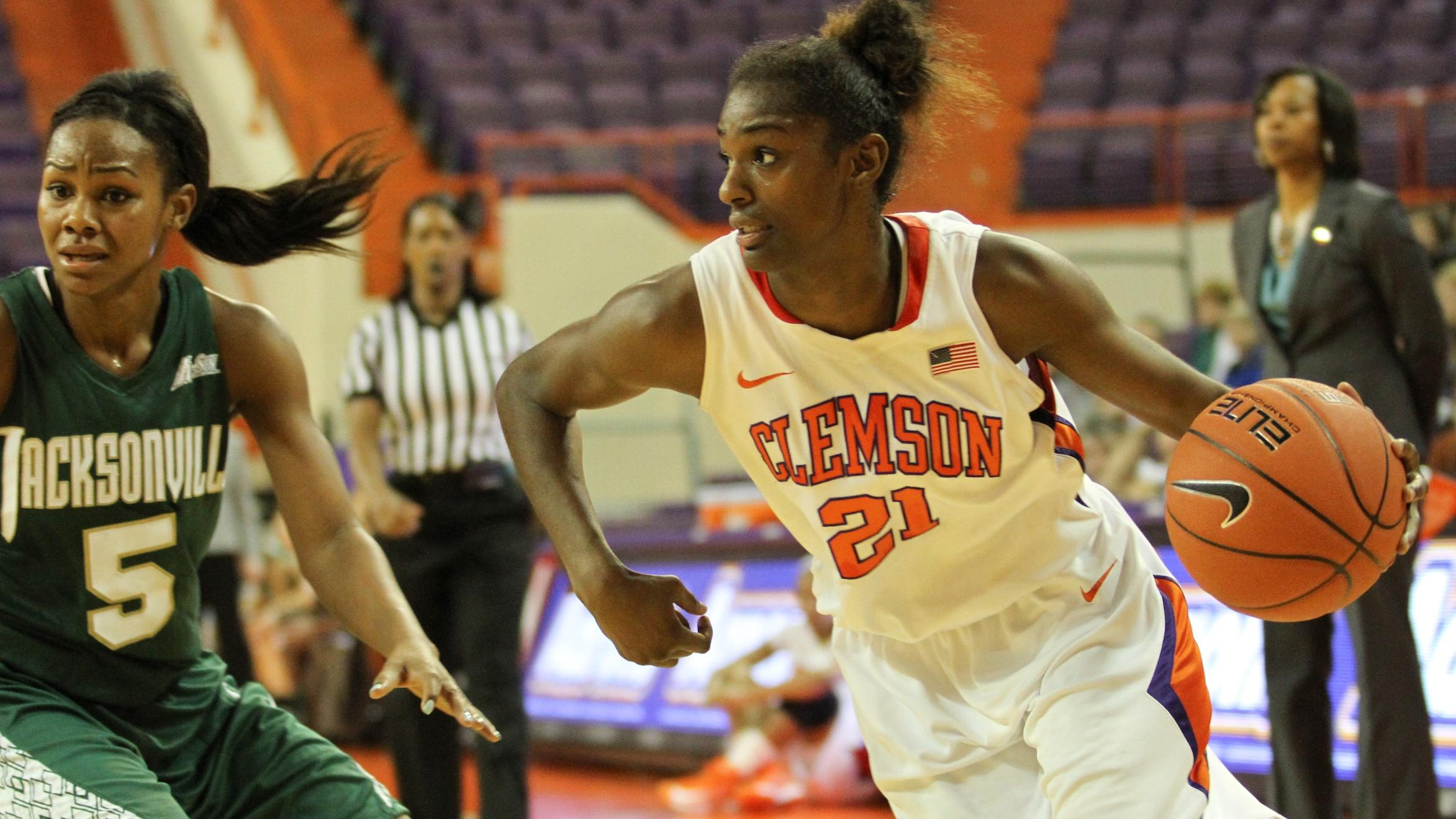 Hot Shooting Propels Lady Tigers to 87-58 Win Sunday