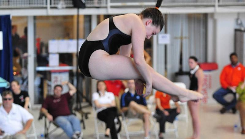 Emily Howard Participated at the U.S. Diving Zone B Competition