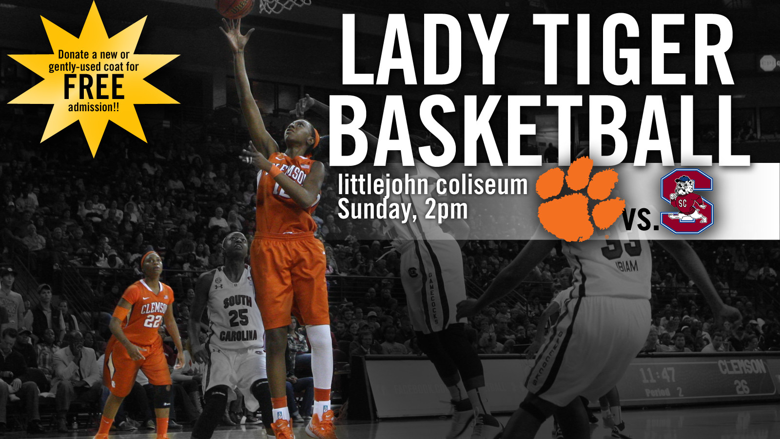 Lady Tigers Play S.C. State Sunday