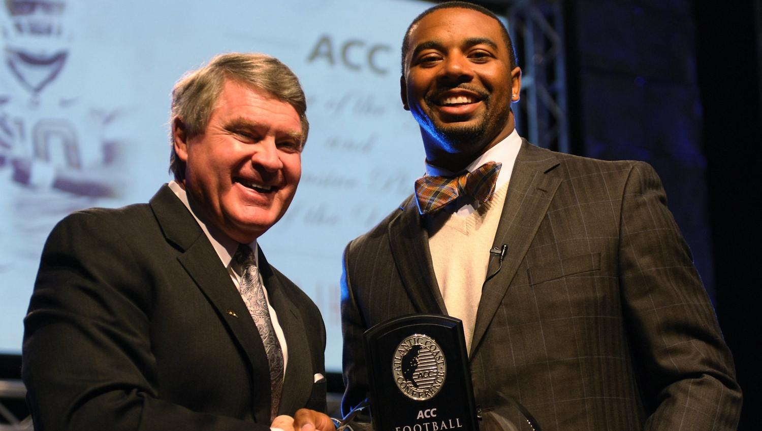 Clemson Football Video Report: Boyd Accepts ACC Player of the Year Award