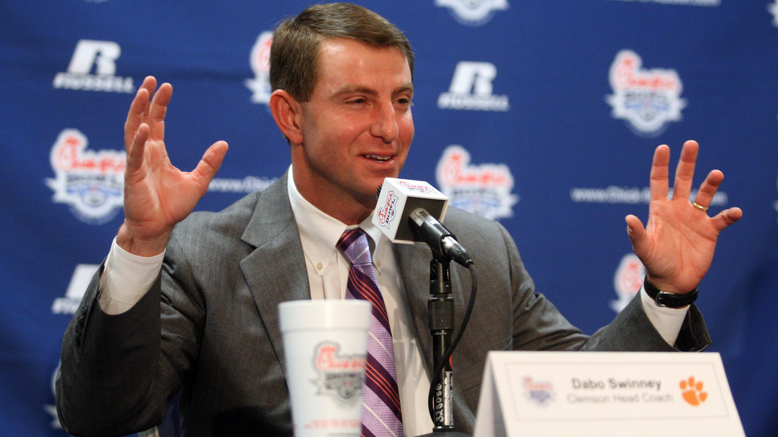 Exclusive: Chick-fil-A Bowl a Clash of Contrasting Styles