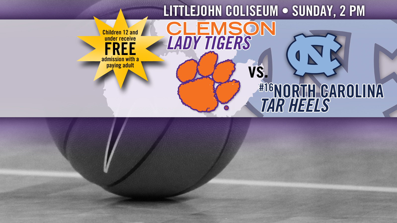 Lady Tigers Open ACC Play with No. 16 North Carolina