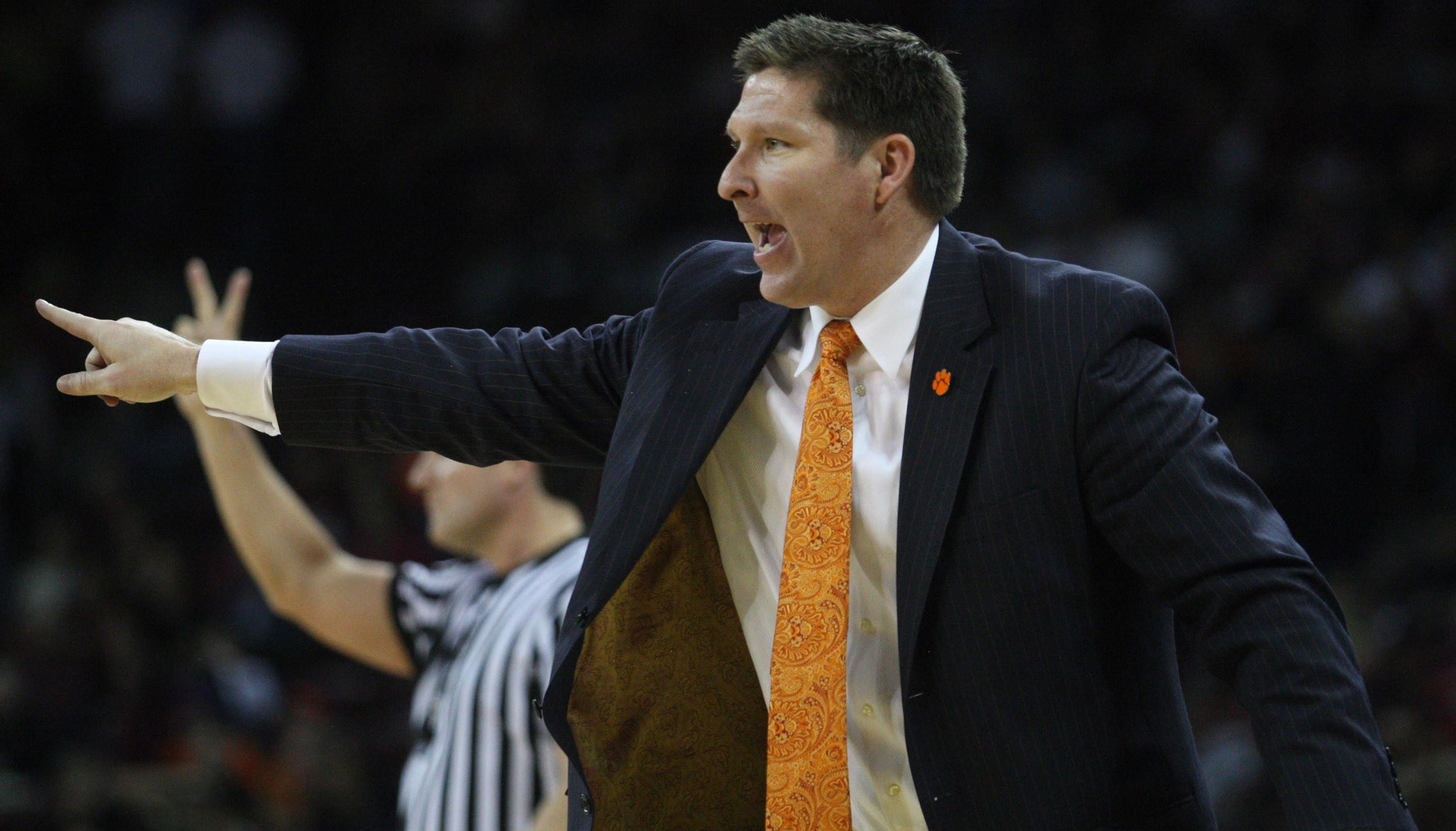 Clemson Basketball Video Report: Head Coach Brad Brownell