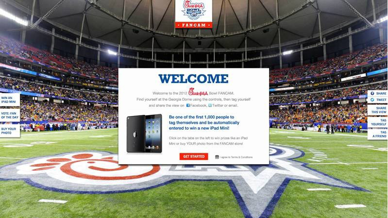 Chick-fil-A Bowl FANCAM Available Now