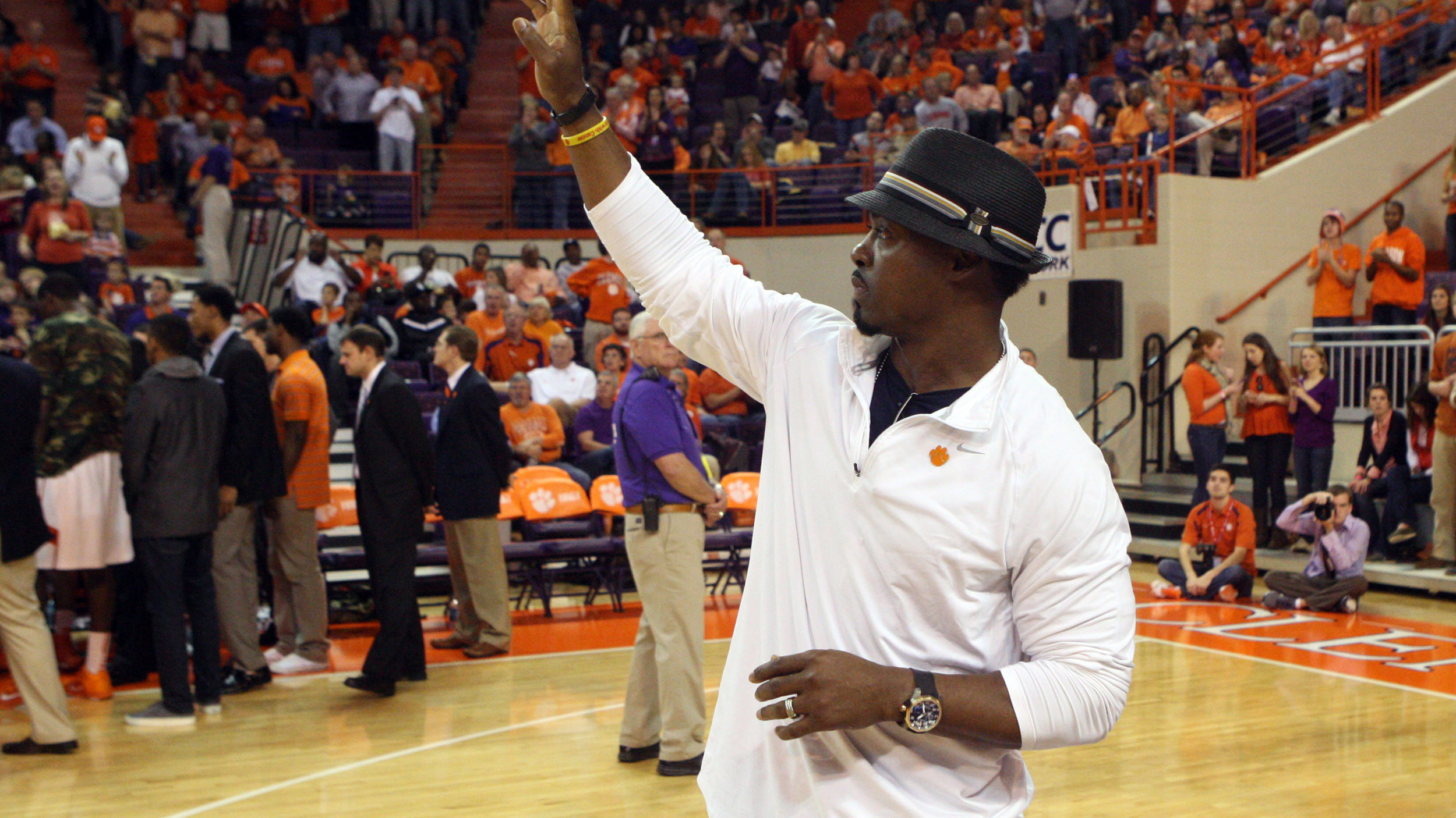 Clemson Institutes Brian Dawkins Lifetime Achievement Award
