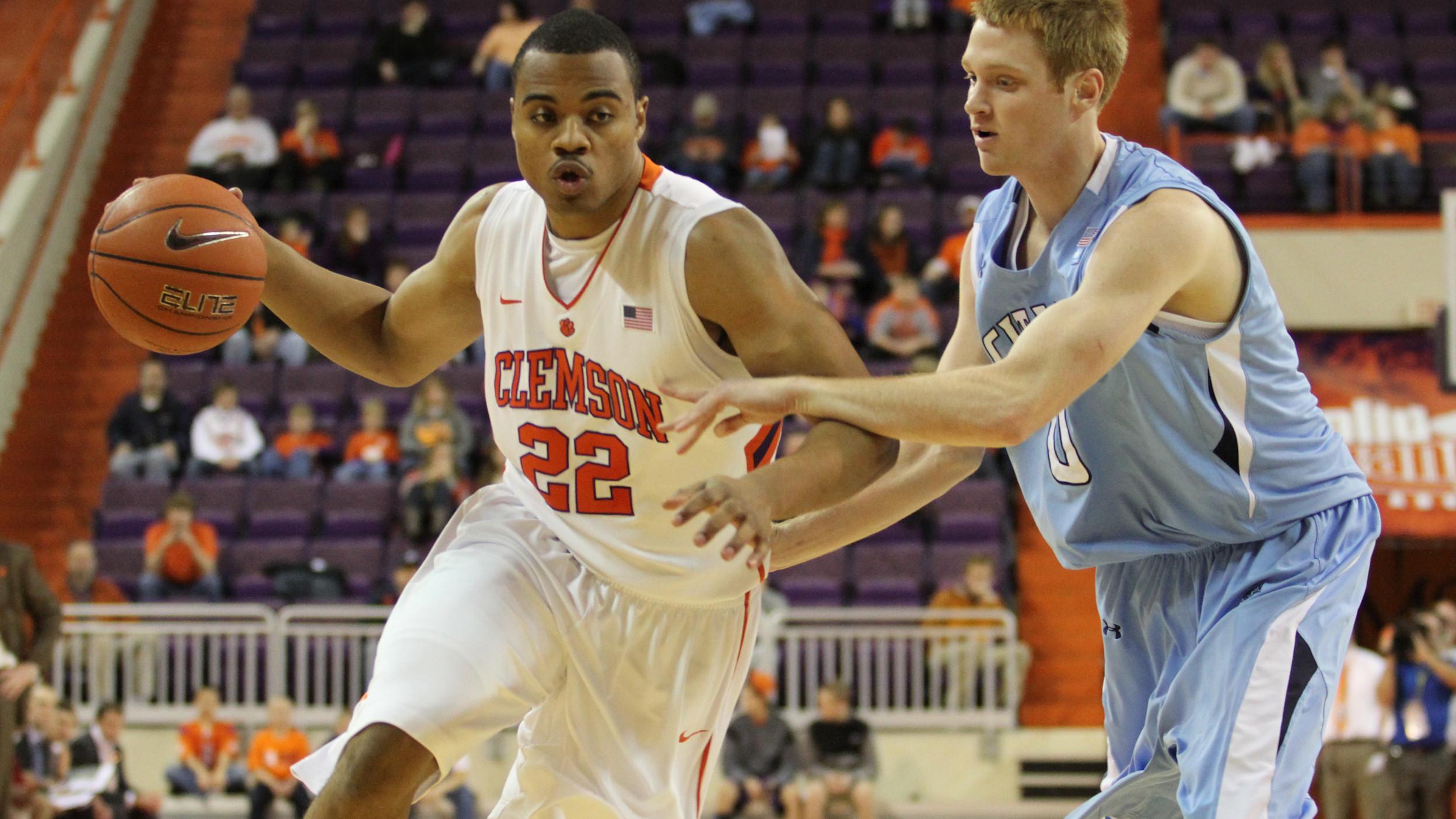 Sullivan to Transfer from Clemson Men?s Basketball Program