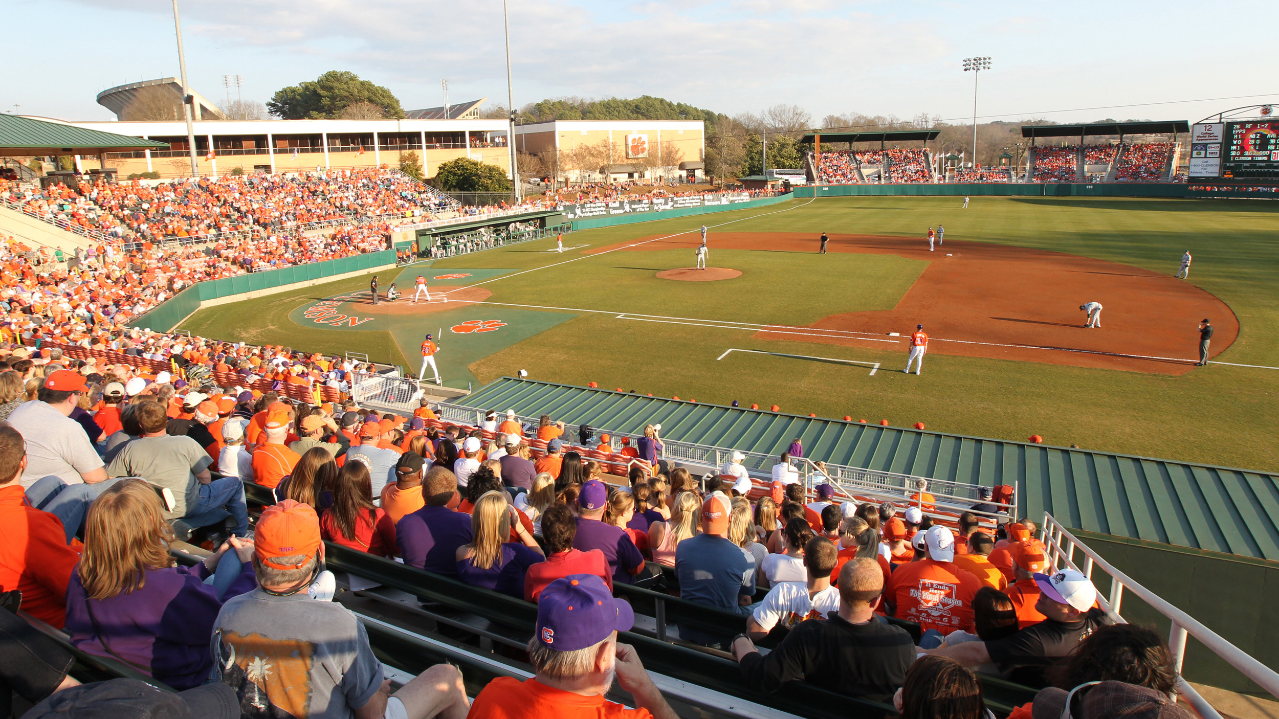 Clemson vs. South Carolina Ticket Availability for Friday, March 1 in Clemson