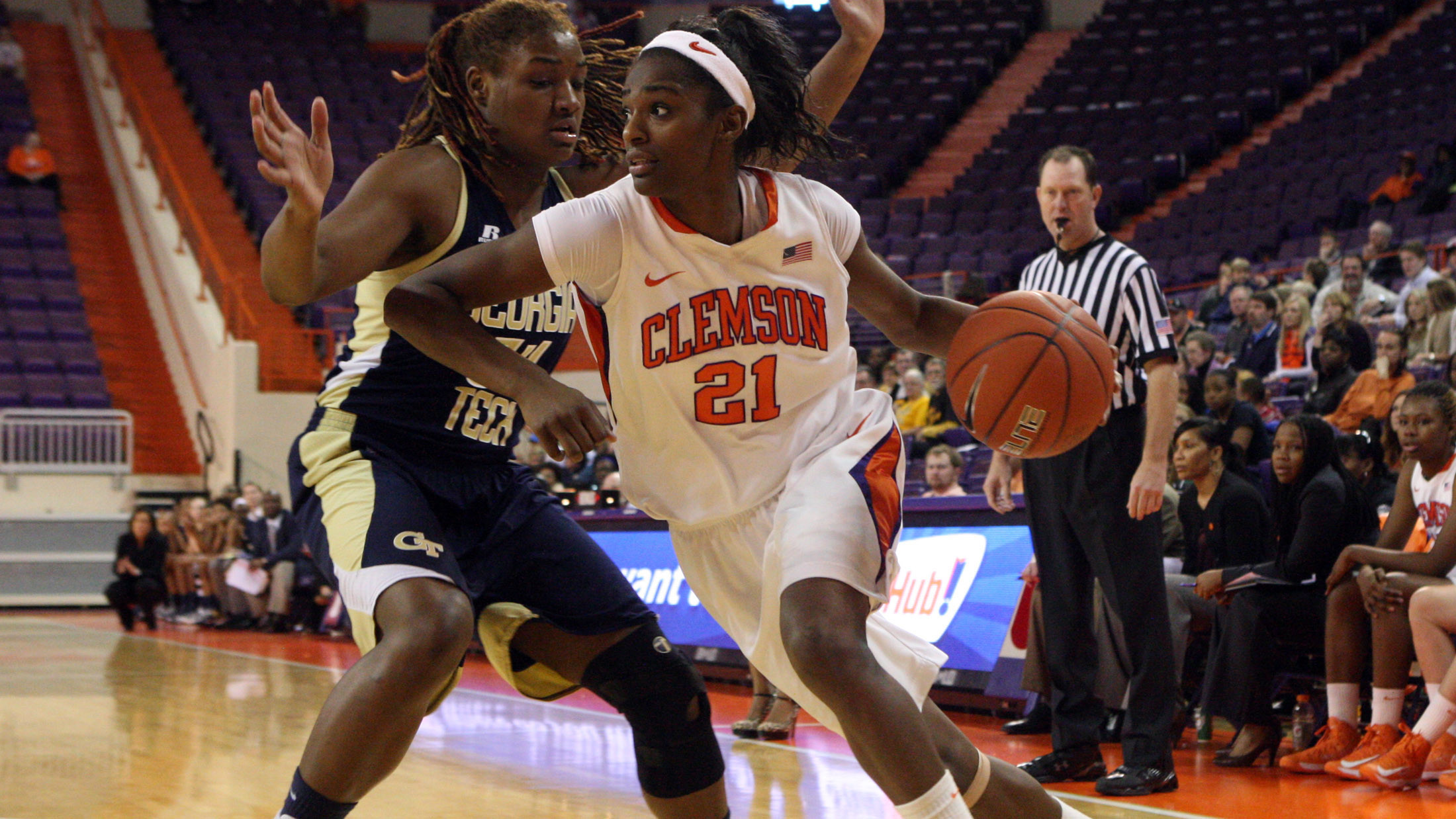 Lady Tigers Take Down Wake Forest in Winston-Salem