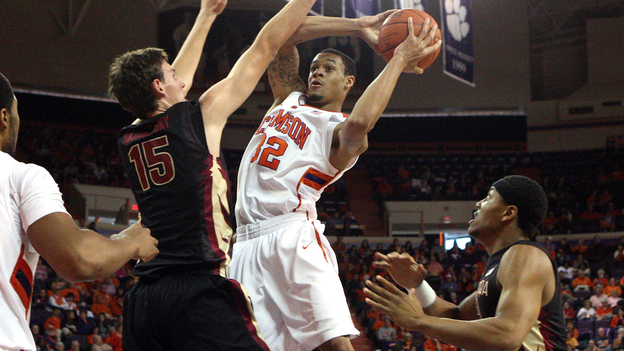 Clemson to Face #1 Duke in Durham Tuesday Night