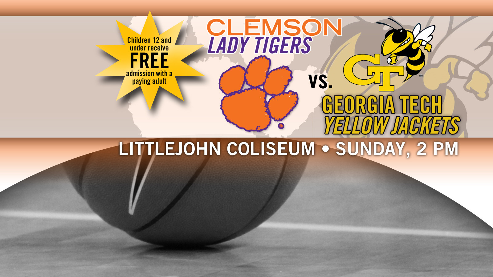 Clemson Welcomes Georgia Tech in Televised Hoops Contest