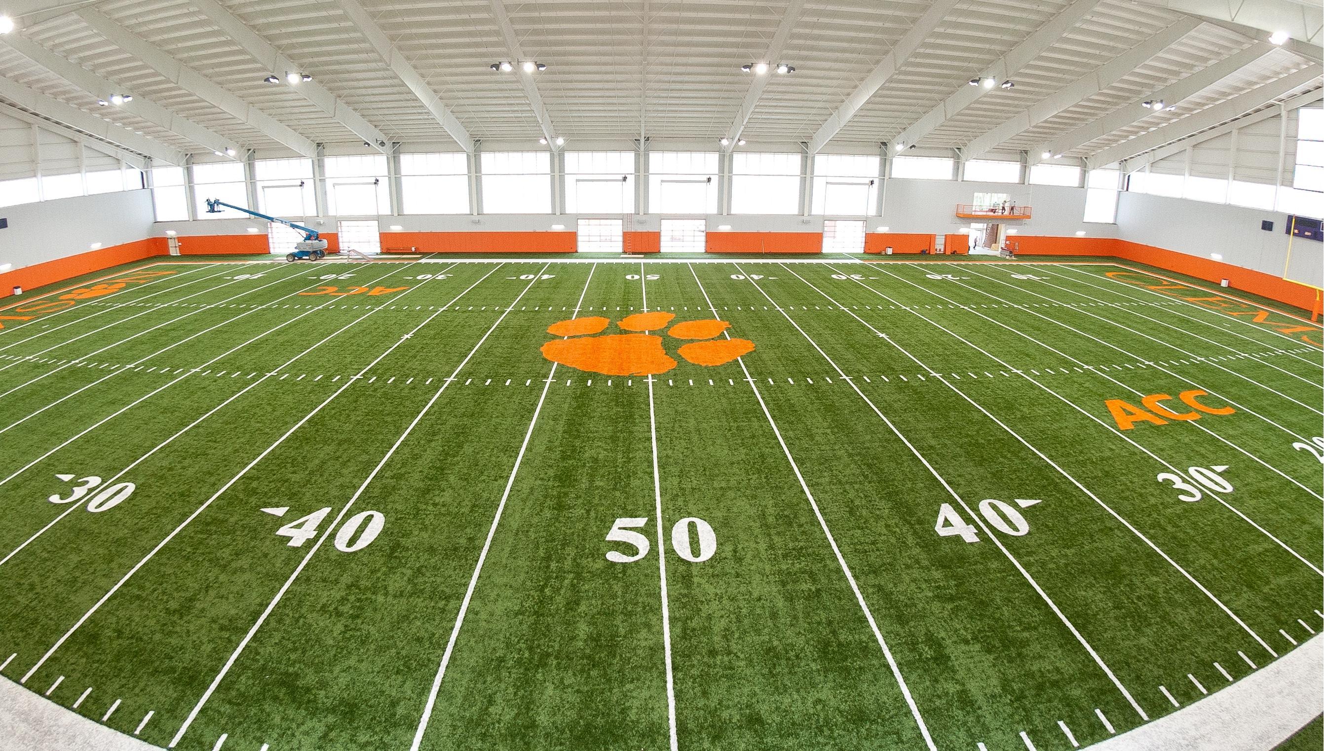 ClemsonTigers.com Unveils Clemson360 Tour of Indoor Practice Facility