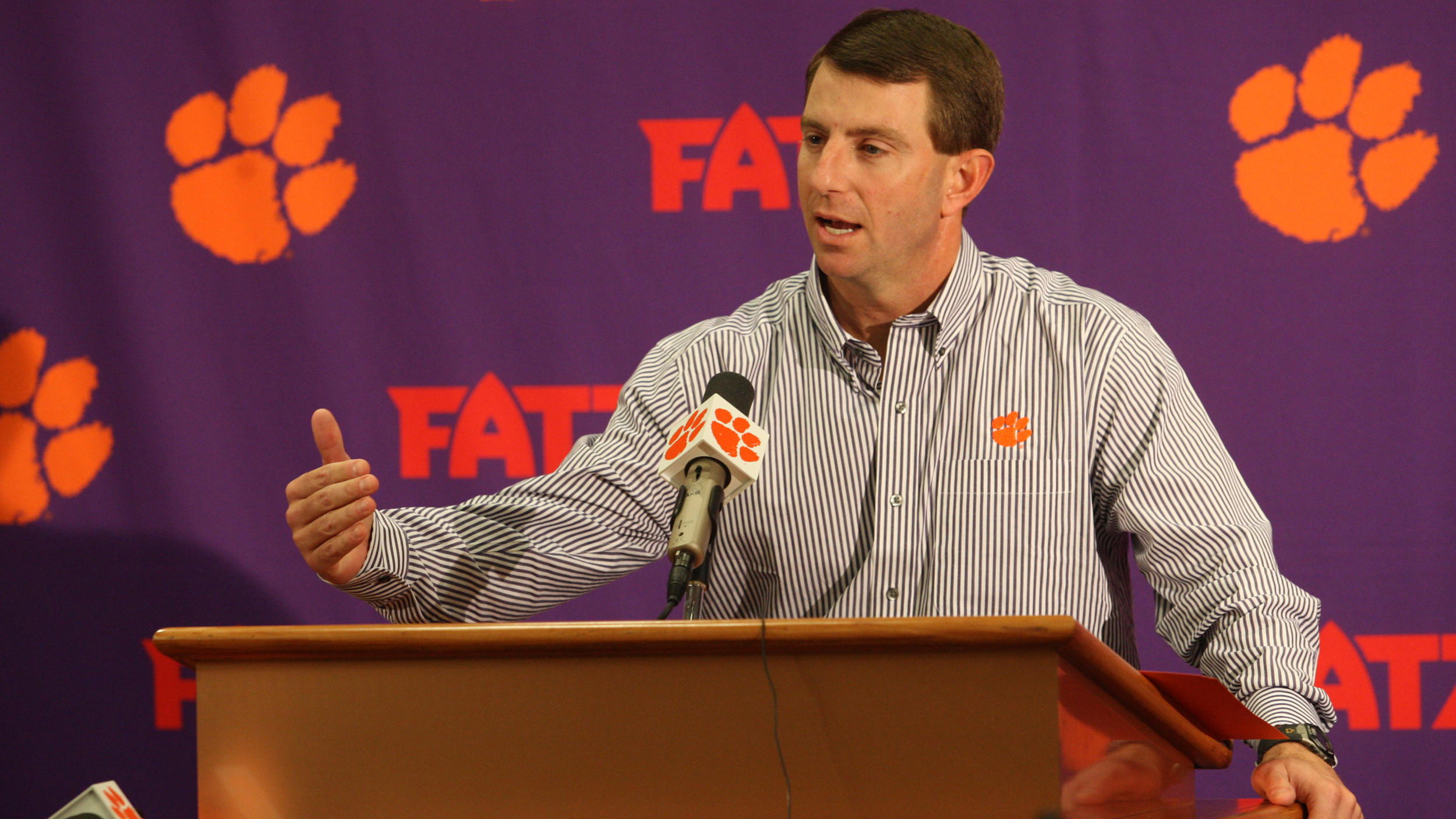 Fort Hill Clemson Club to Host Wendy's Recruiting Wrap-Up February 6
