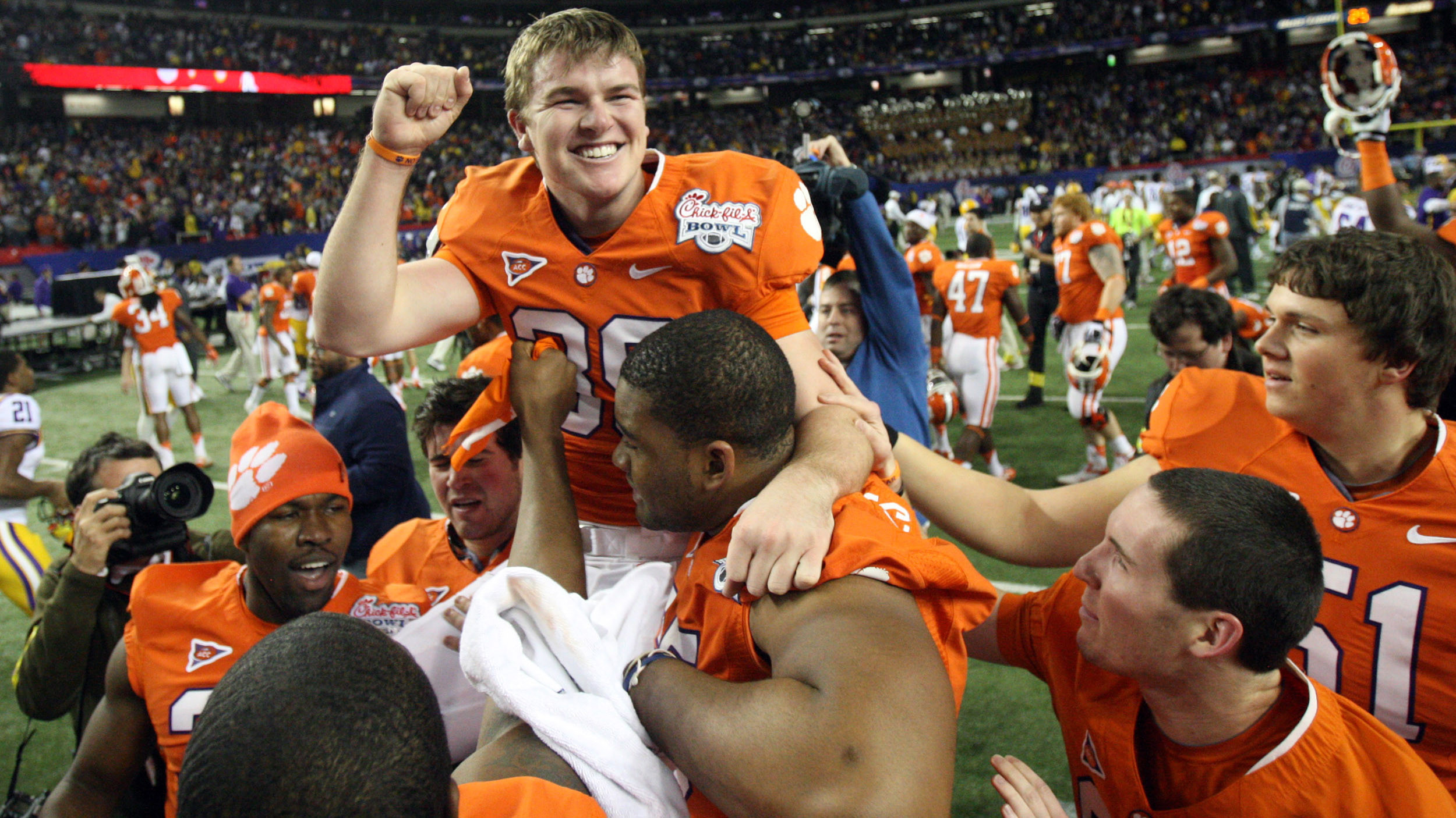 Clemson vs. LSU Chick-fil-A Bowl Game Replay Now Available on ClemsonTigers.com