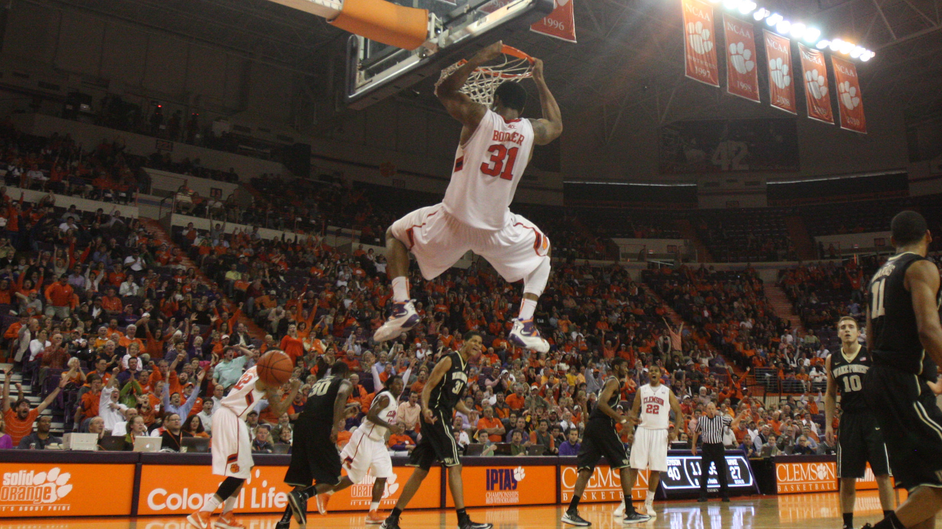Clemson to Play Host to Virginia Tech Sunday