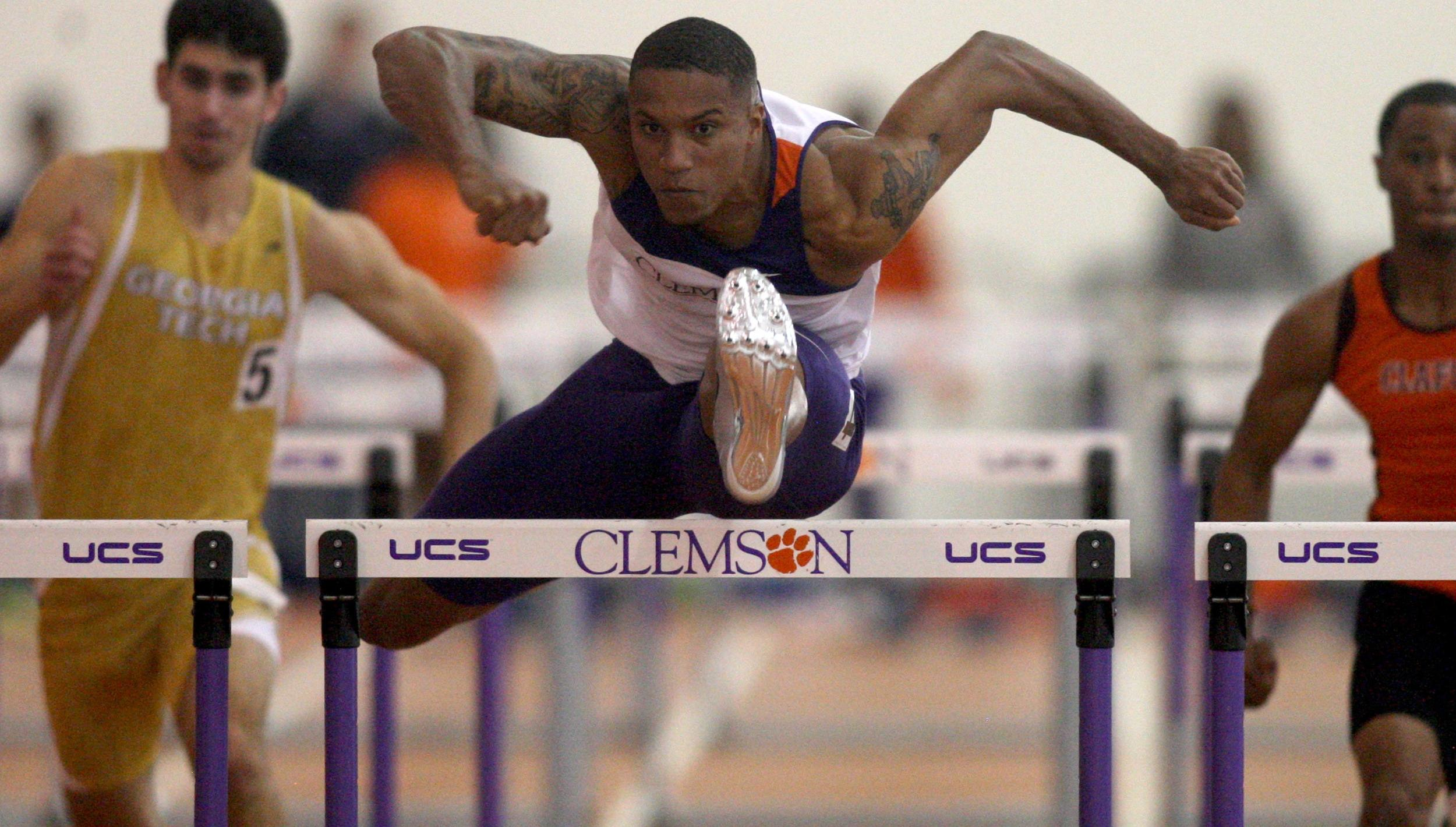 Clemson Captures Three Event Titles Friday at Armory Collegiate Invitational