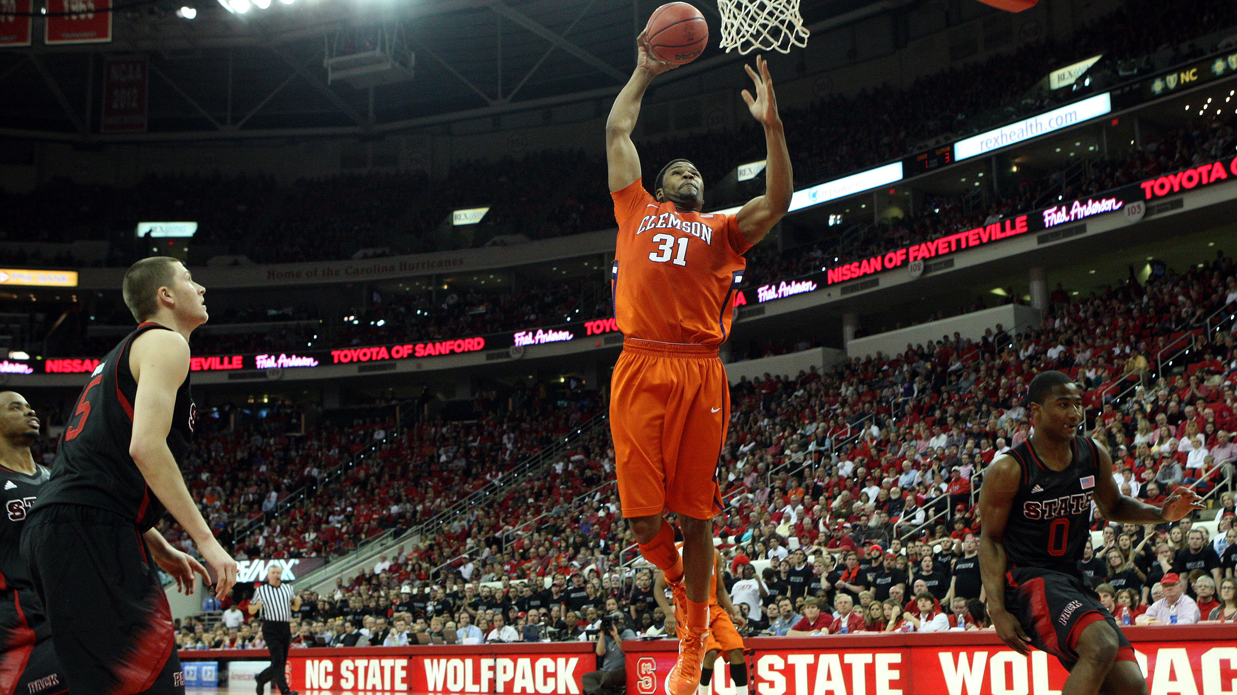 Clemson's Comeback Effort Falls Short in 66-62 Loss at No. 14/15 NC State
