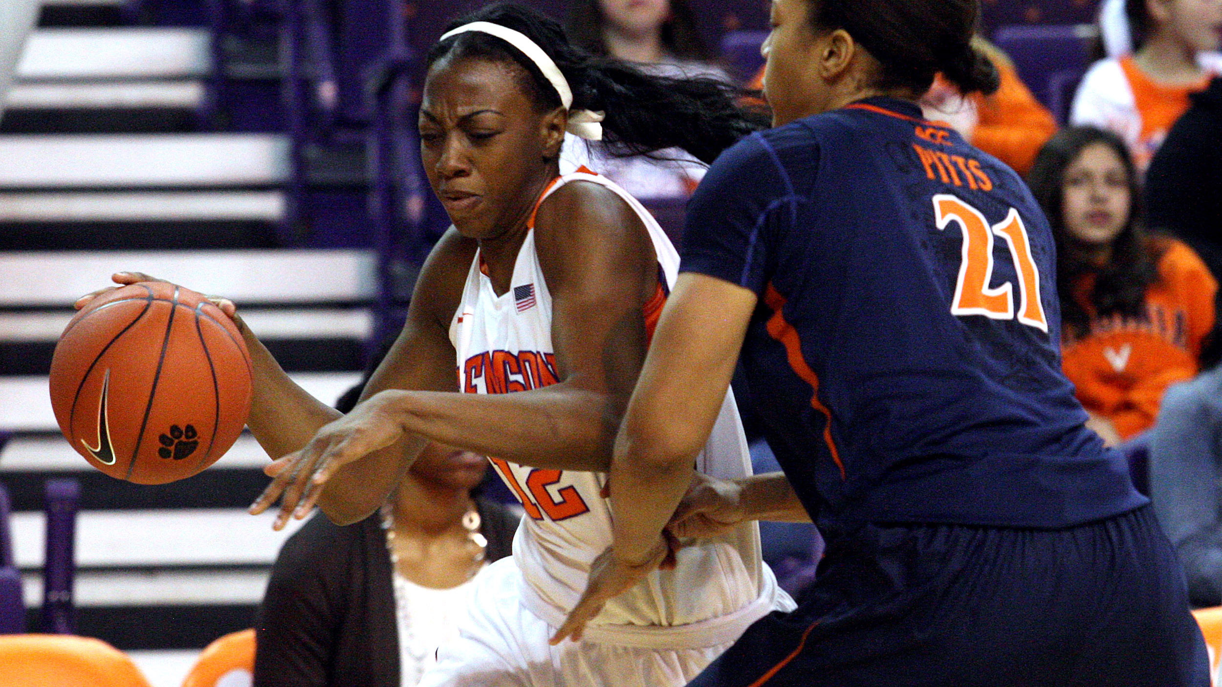 Lady Tigers Beat Boston College in Chestnut Hill
