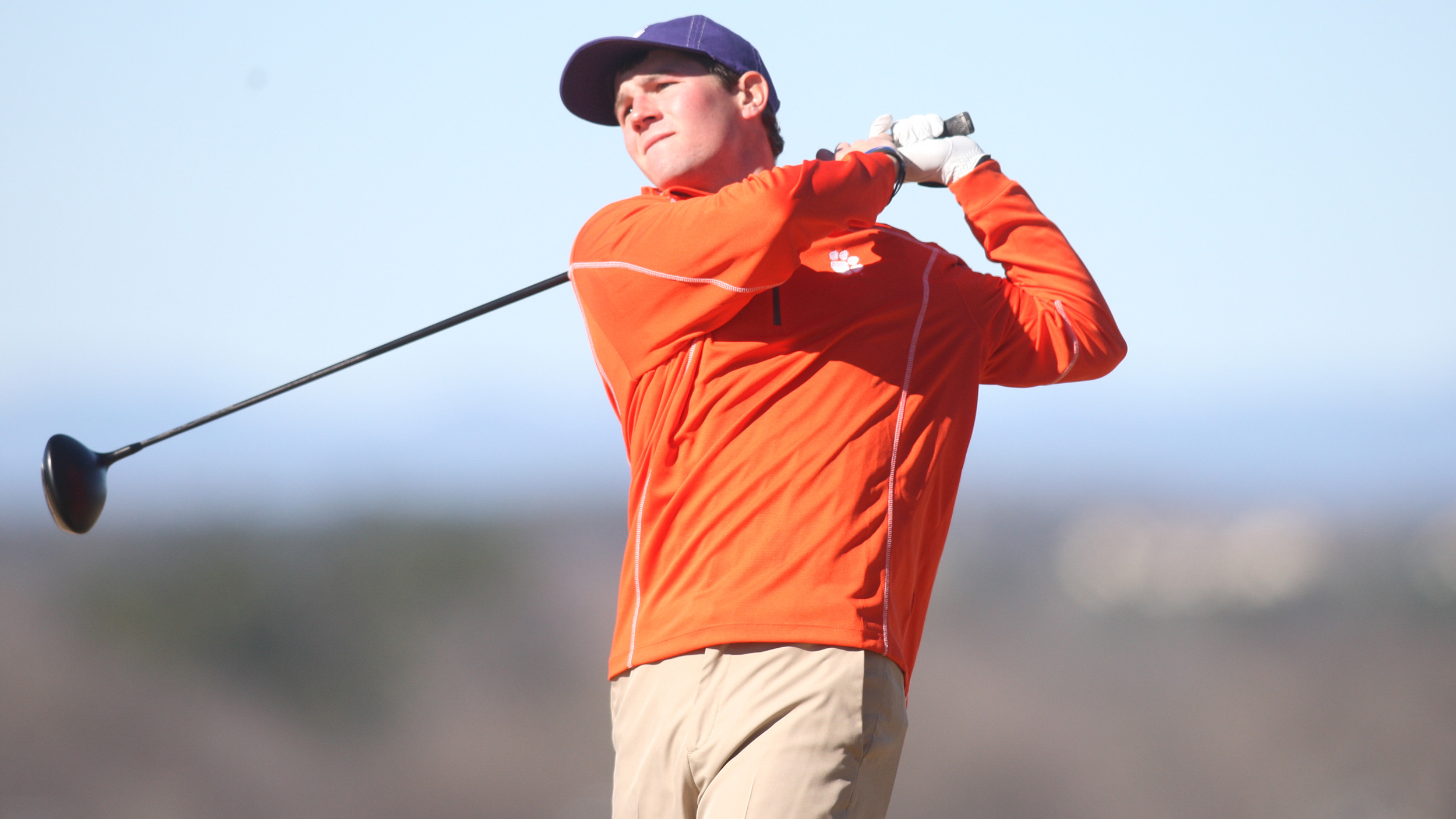 Clemson Tied for Fourth Entering Final Day of Insperity Augusta State Invitational