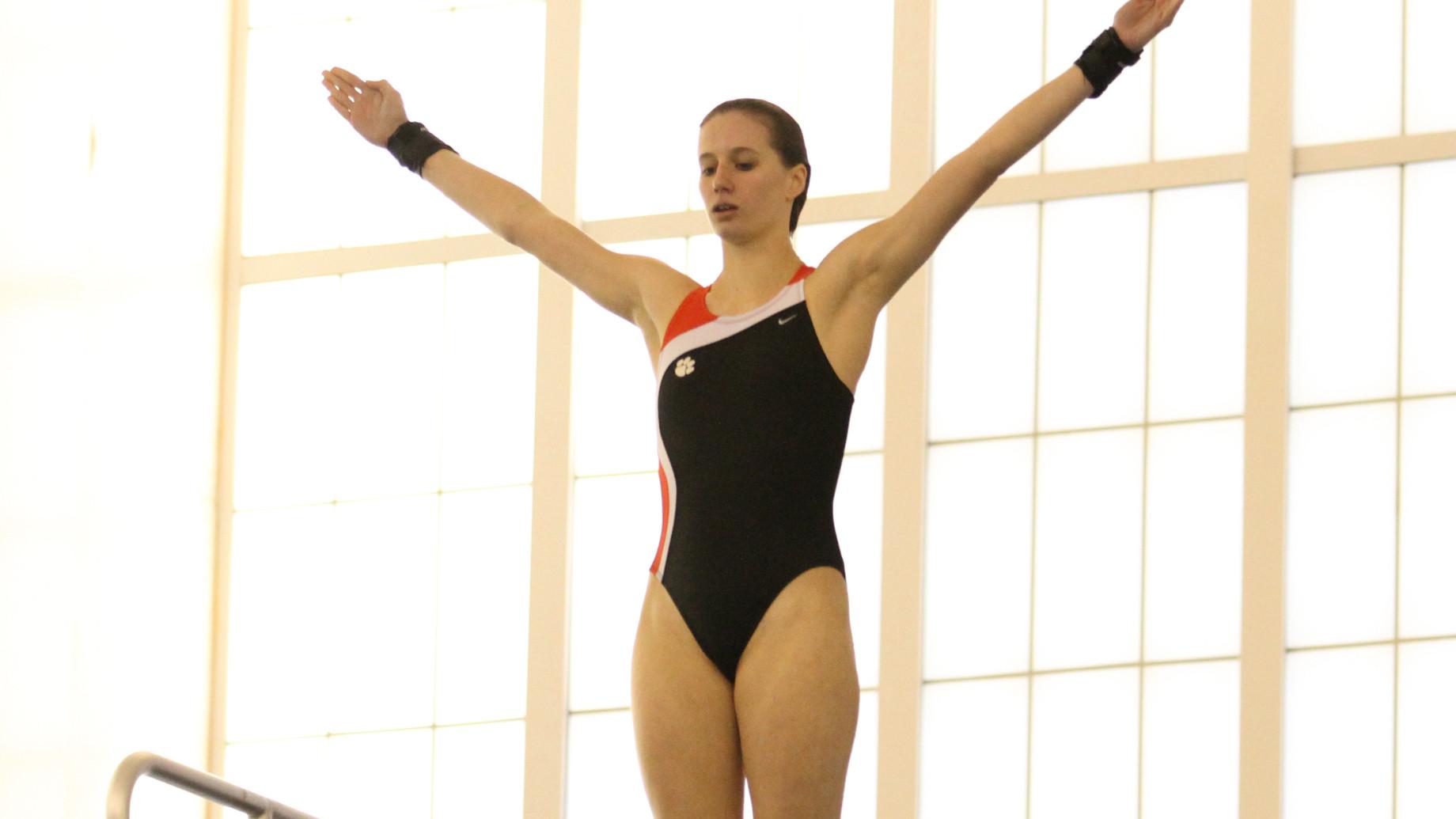 Clemson Diving Prepares for ACC Championships