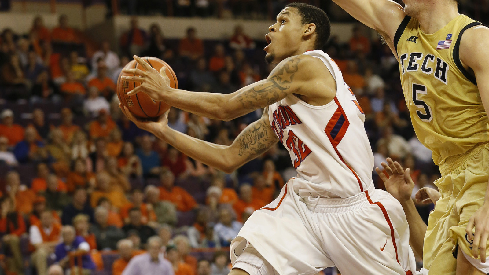 Clemson's McDaniels Earns Invitation to Kevin Durant Skills Academy