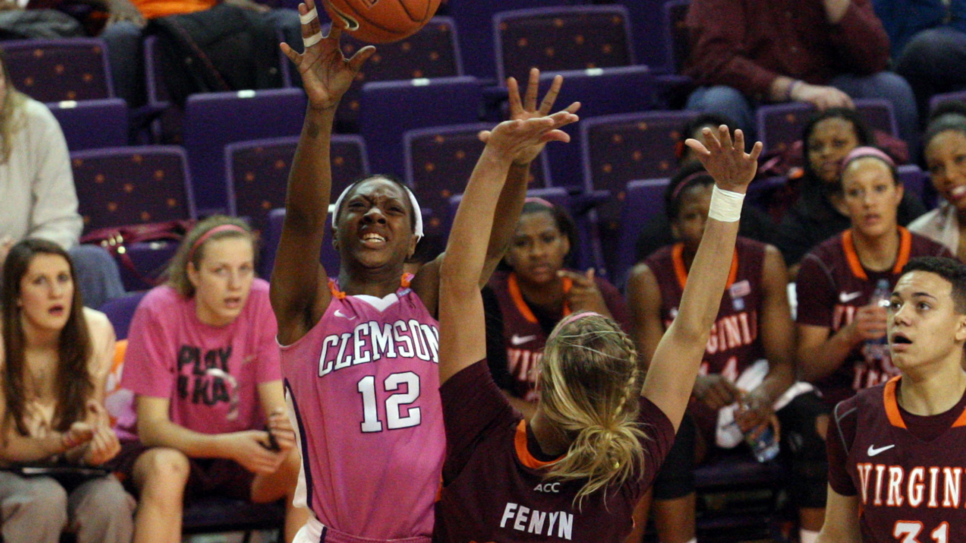 Lady Tigers Overcome 11-point 2nd Half Deficit to Beat Virginia Tech