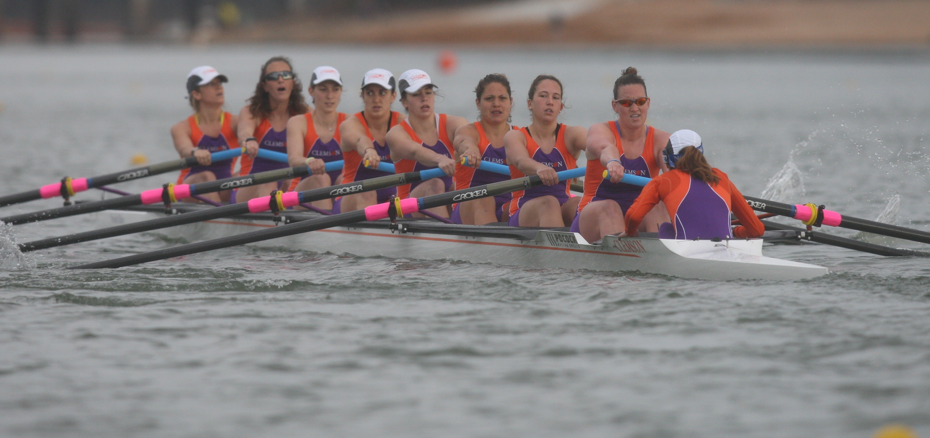 Clemson Rowing to Open 2013 Season on Saturday on Lake Hartwell
