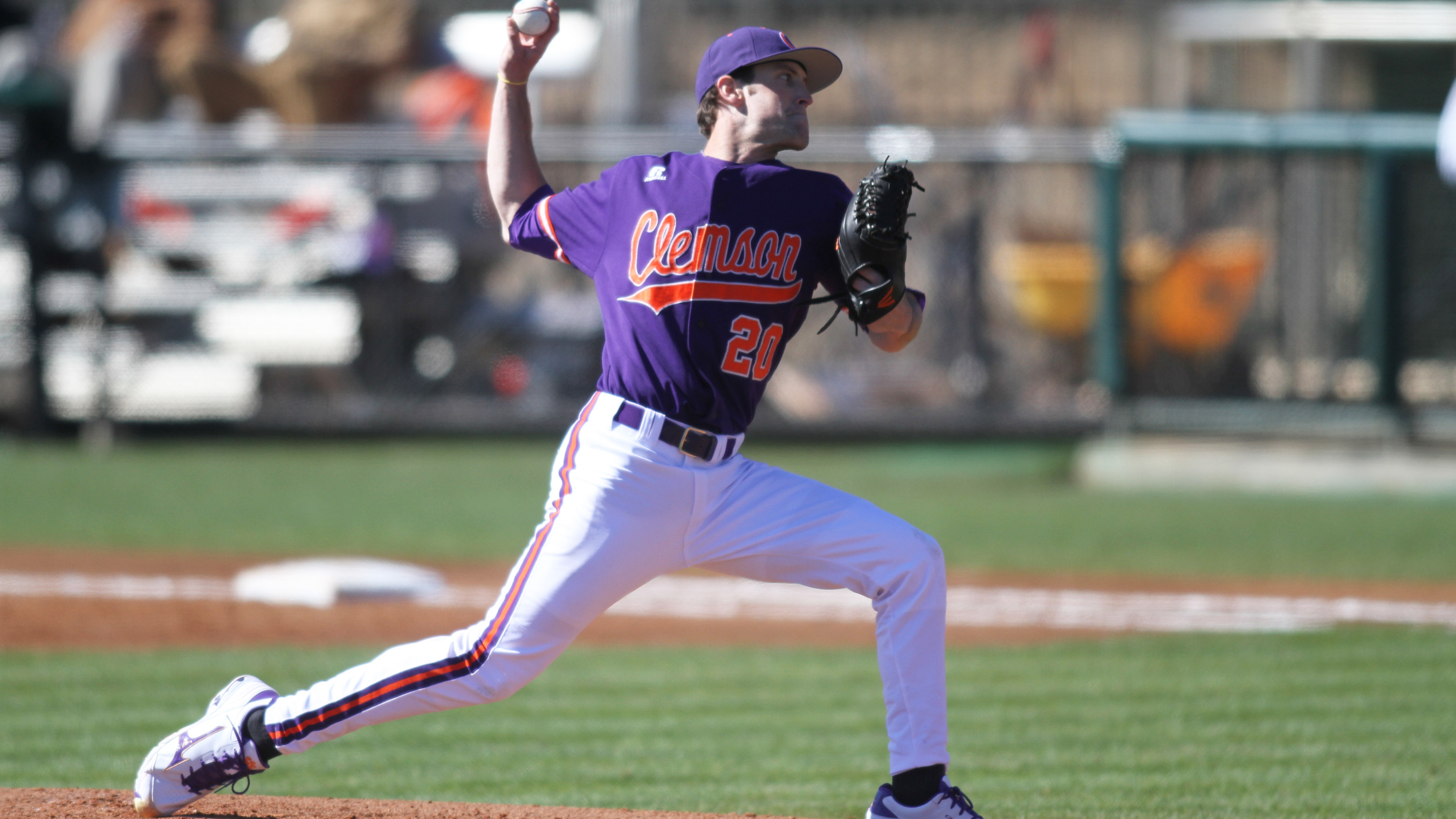 Clemson Completes Sweep With 7-0 Win Over Wright State Sunday