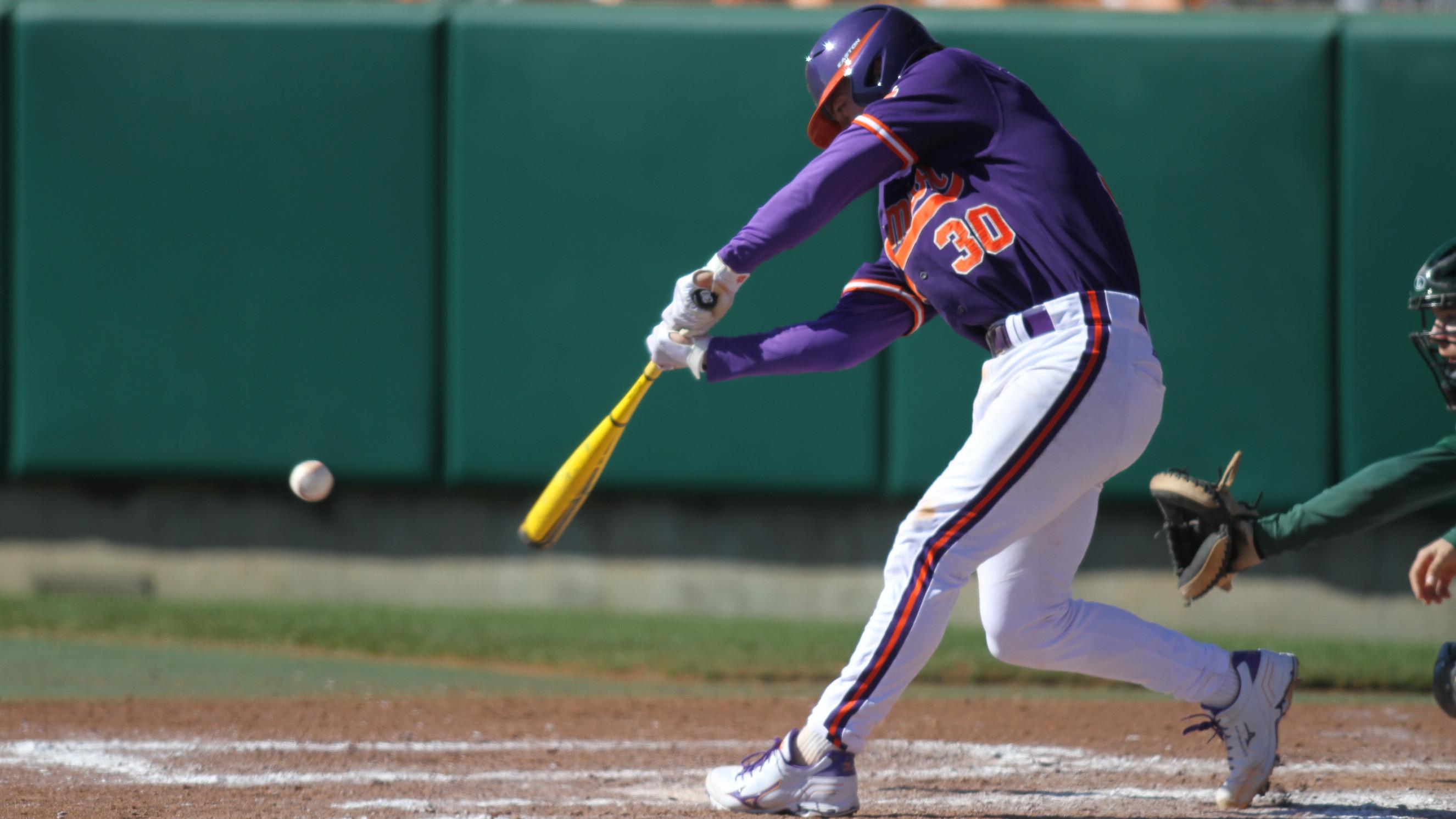 Tiger Baseball Team to Play Host to #12 Virginia Friday-Sunday
