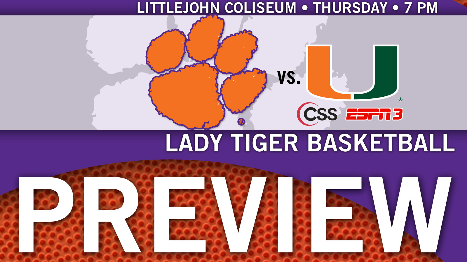 Clemson Takes on Miami on Thursday