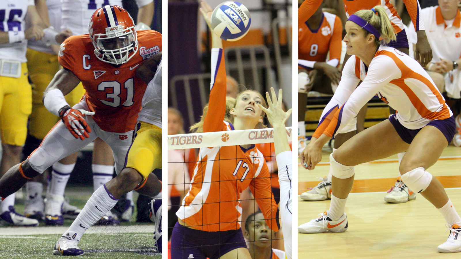 Three Clemson Student-Athletes are Recipients of ACC Postgraduate Scholarships