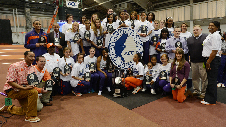 Clemson Women Earn Fourth Straight Crown, Men Third at ACC Indoor Championships