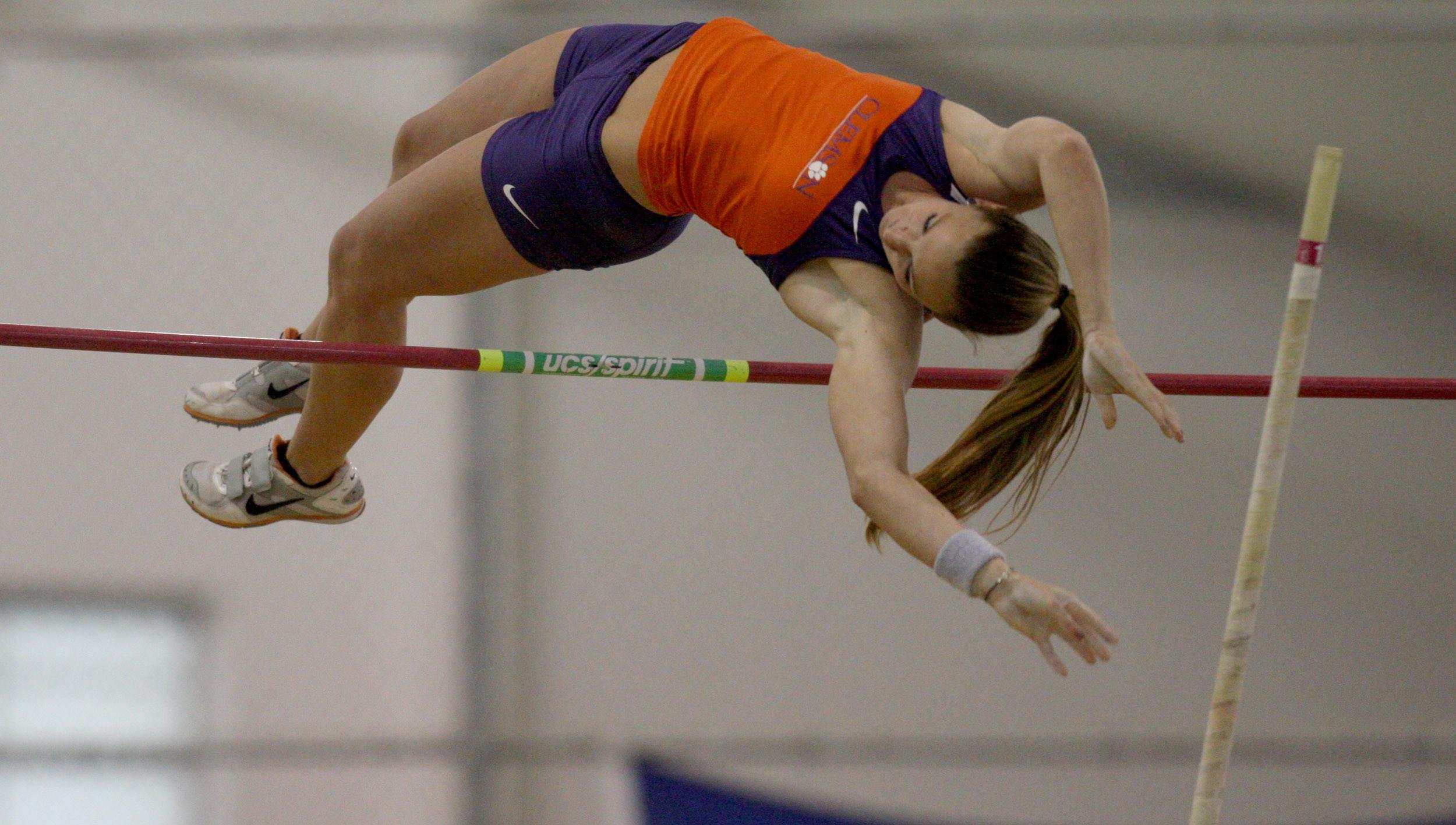 Five Tigers Named to All-ACC Academic Team for Indoor Track & Field