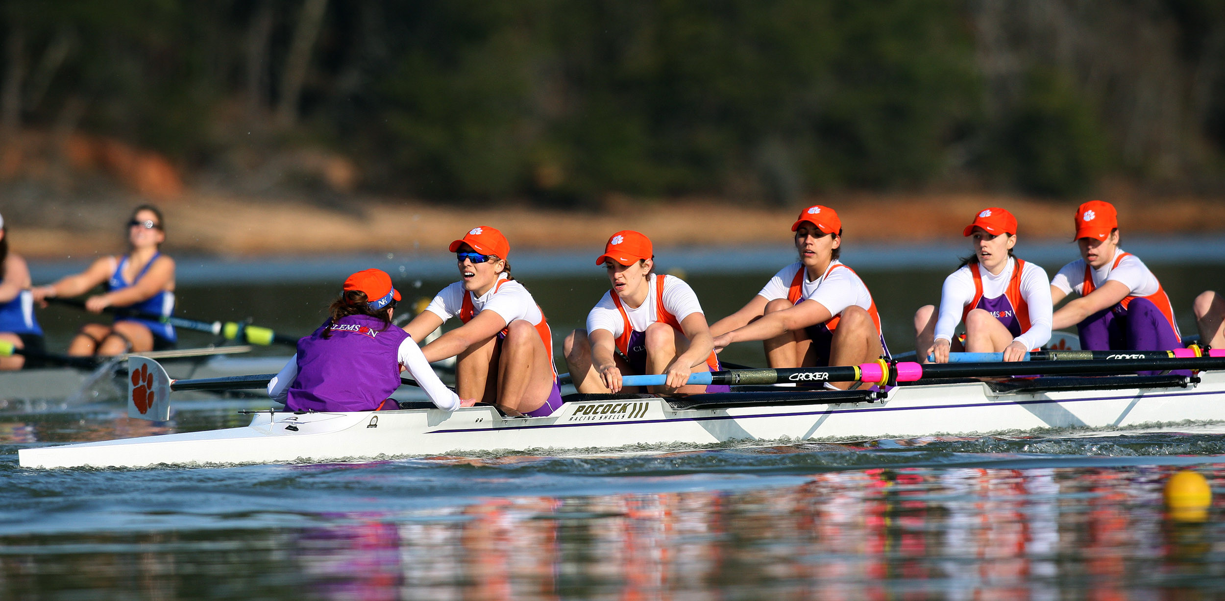Clemson Rowing Records Strong Performance on Saturday