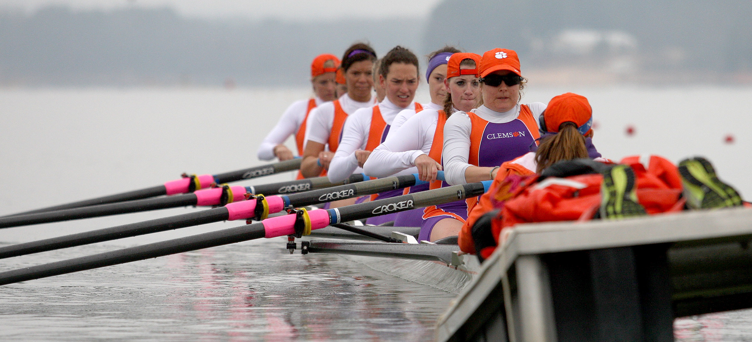 Clemson?s Second Varsity Eight Named ACC Rowing Crew-of-the-Week